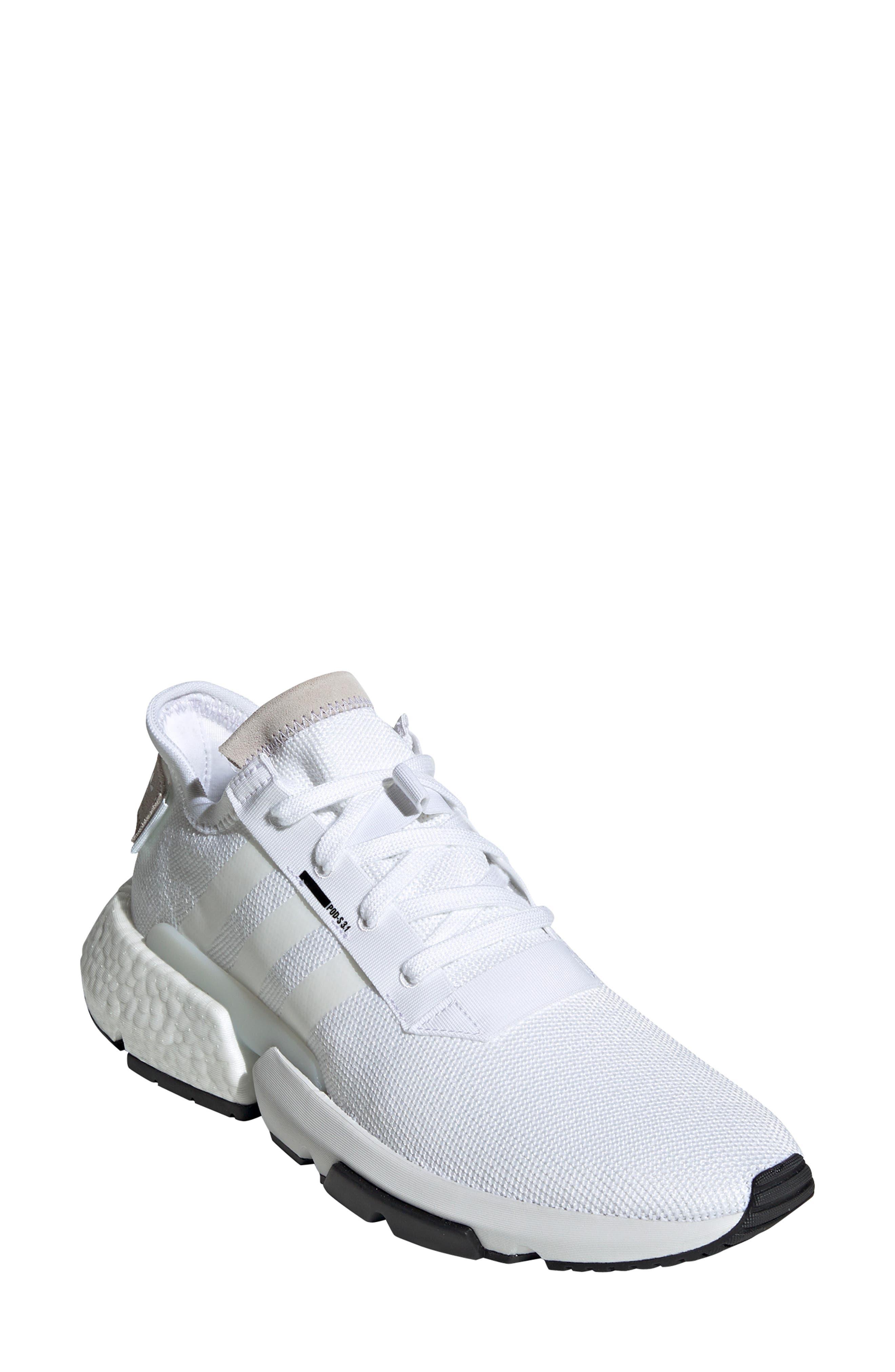 Pod S3.1 Sneaker,                         Main,                         color, WHITE/ BLACK