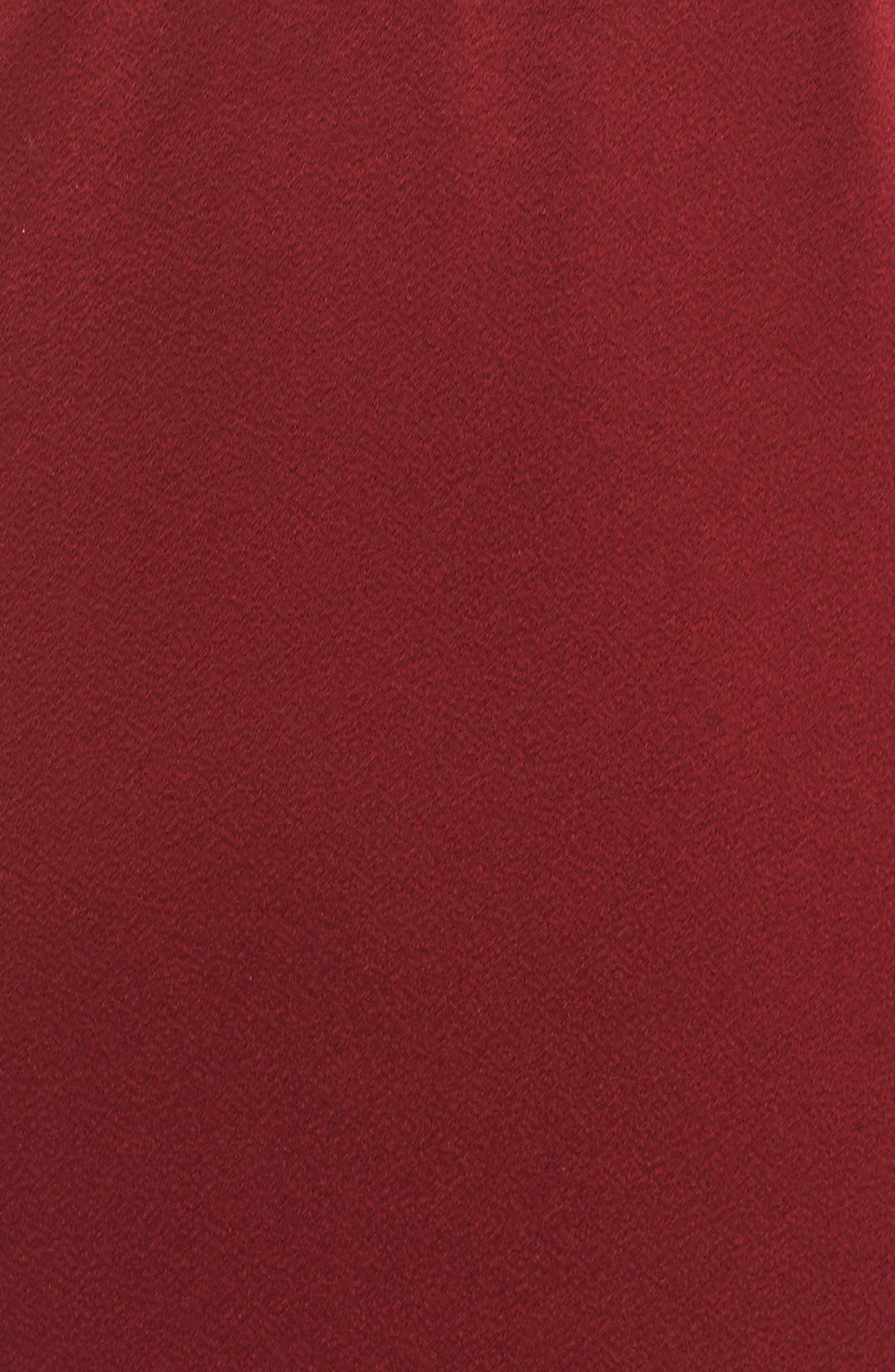 Boswell High/Low Halter Dress,                             Alternate thumbnail 5, color,