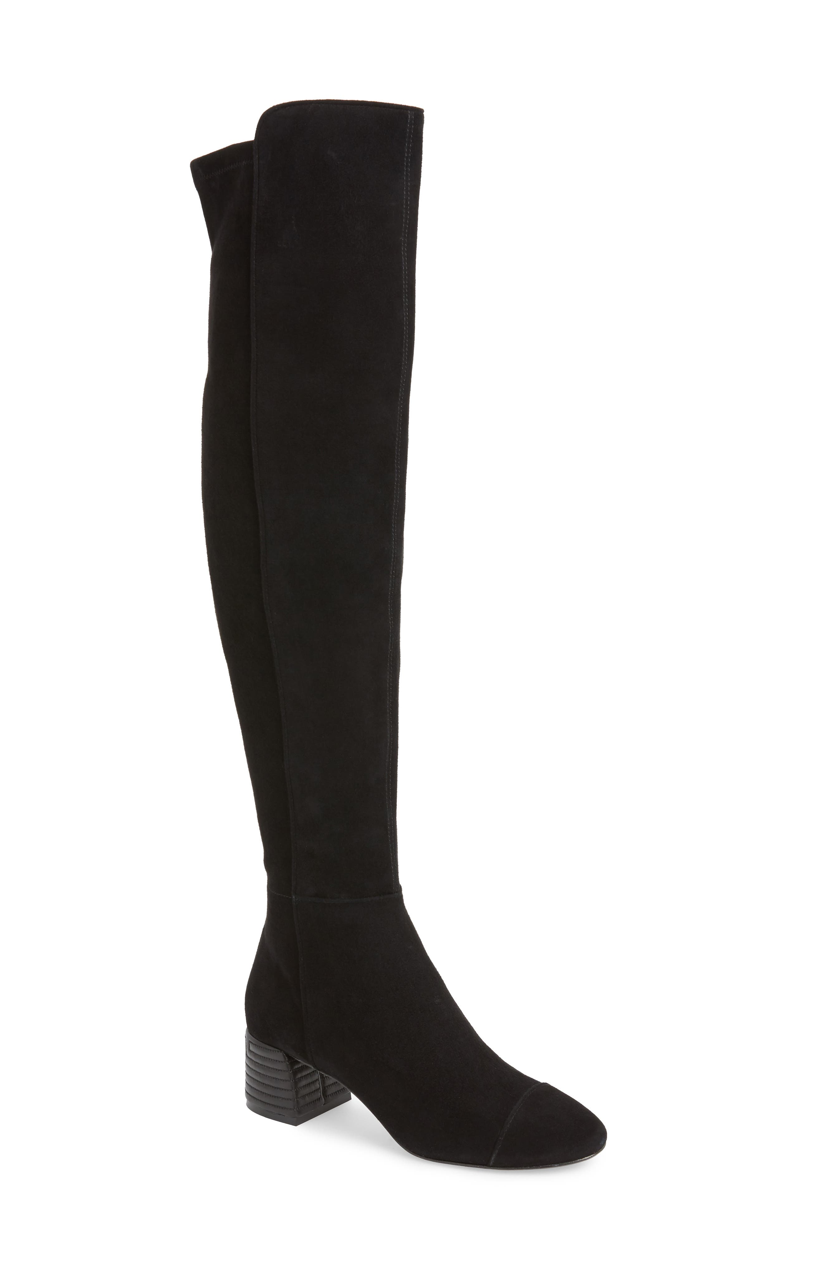Nina Over the Knee Boot,                         Main,                         color, 006
