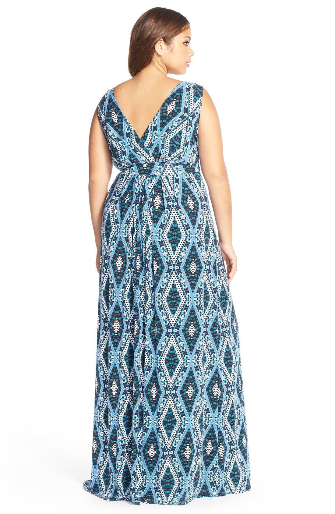 Chloe Empire Waist Maxi Dress,                             Alternate thumbnail 31, color,