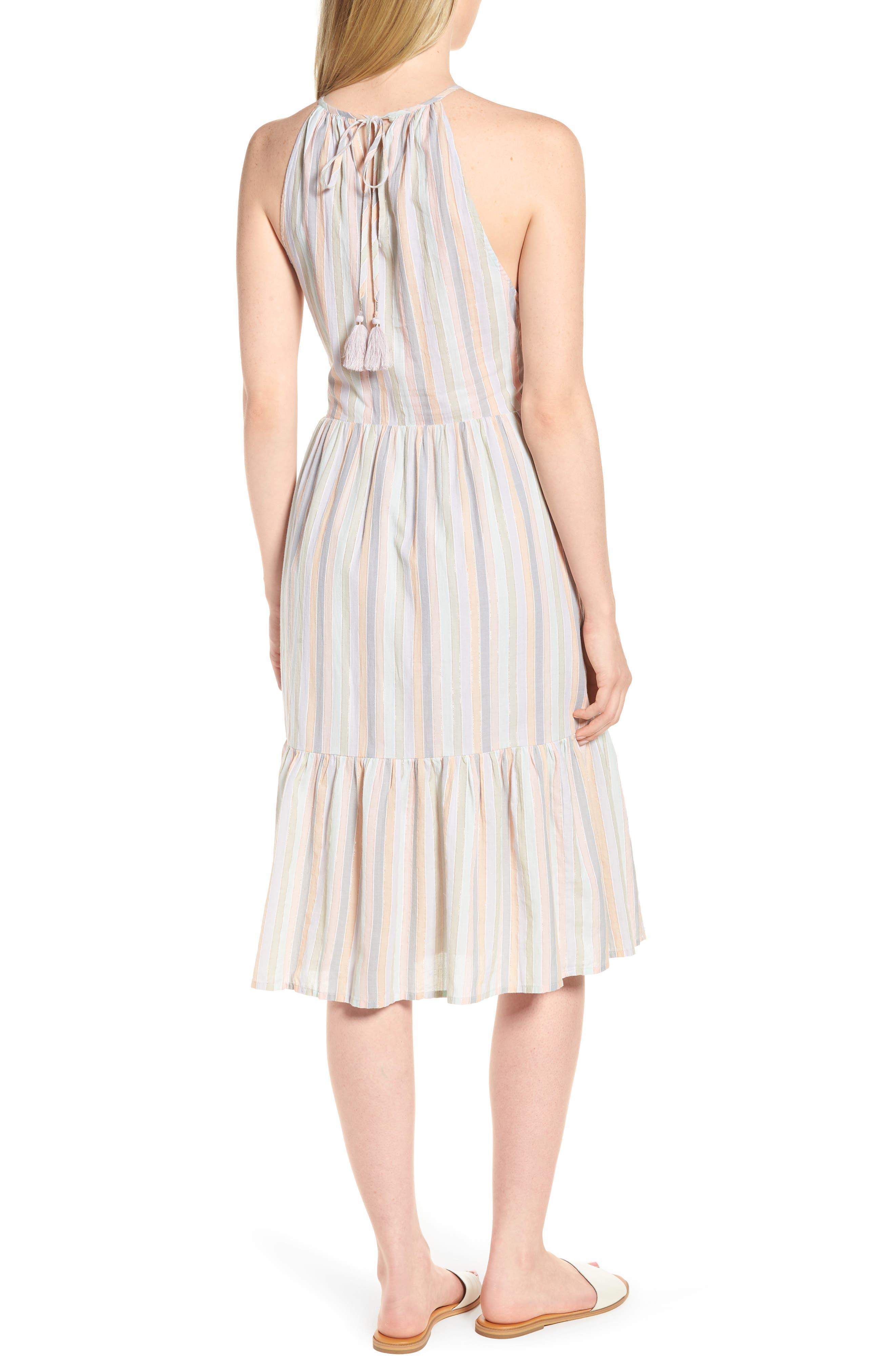 Pastel Stripe Dress,                             Alternate thumbnail 2, color,                             950
