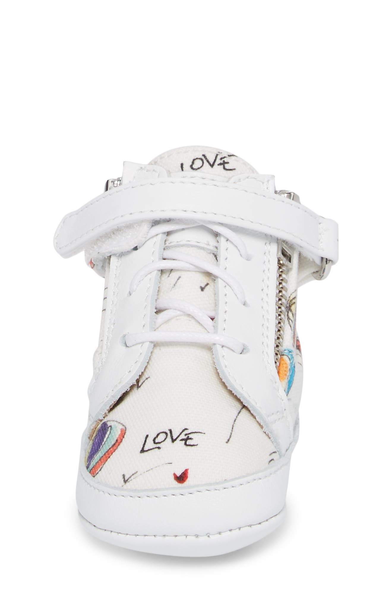 Culla London High Top Crib Sneaker,                             Alternate thumbnail 11, color,