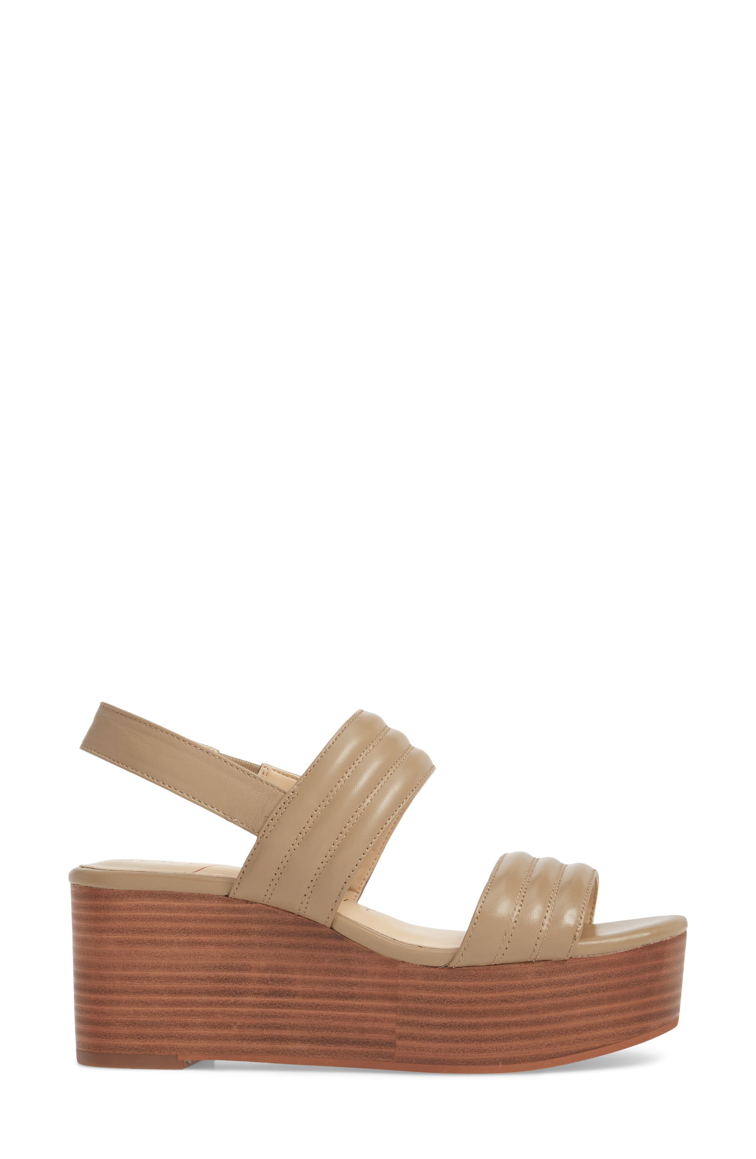 Amberly Platform Sandal,                             Alternate thumbnail 3, color,                             200
