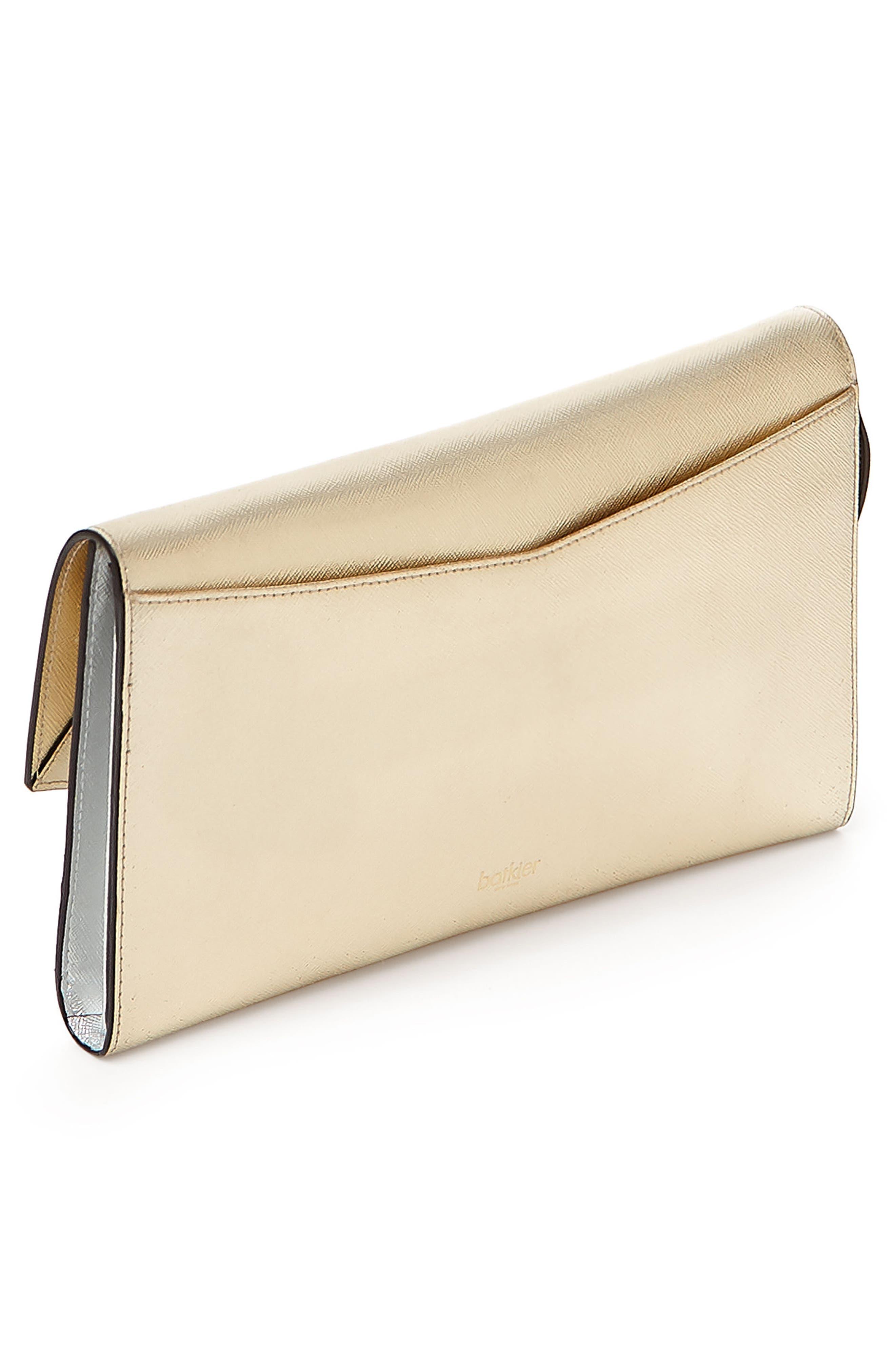Cobble Hill Leather Wallet,                             Alternate thumbnail 2, color,                             GOLD COLORBLOCK