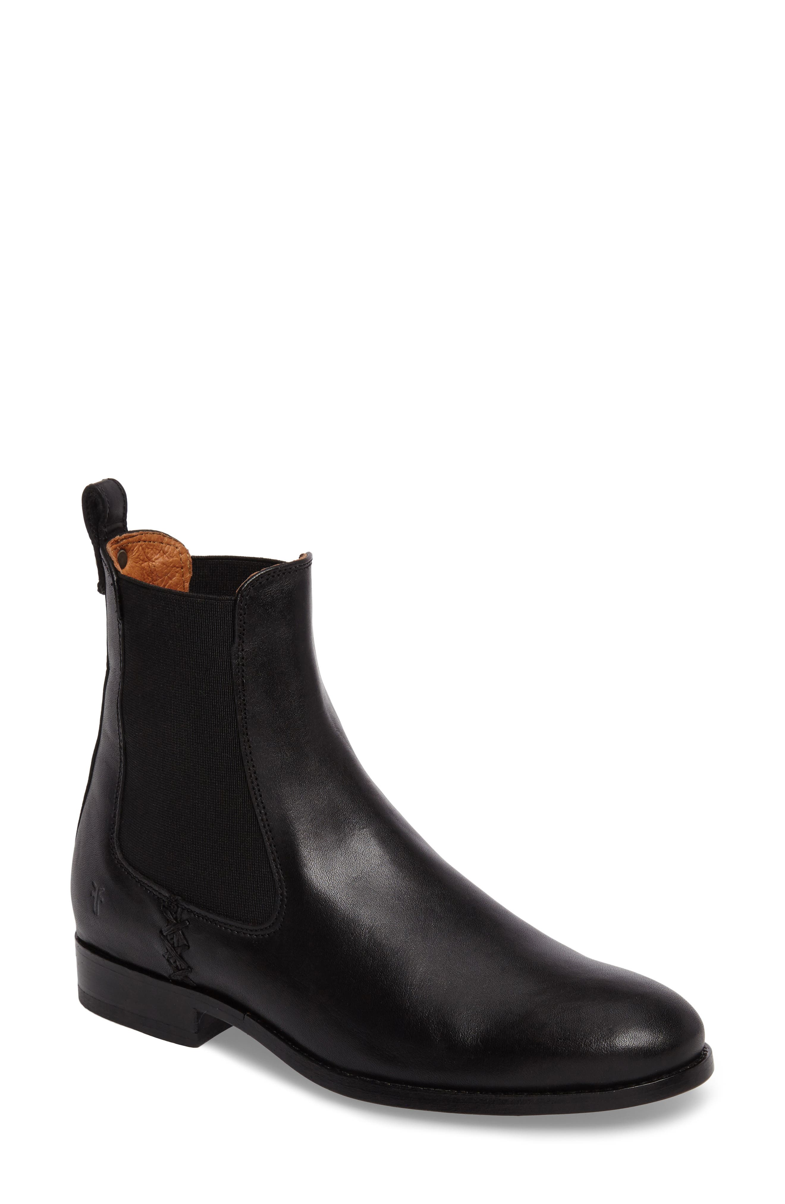 Melissa Chelsea Boot,                         Main,                         color, 001
