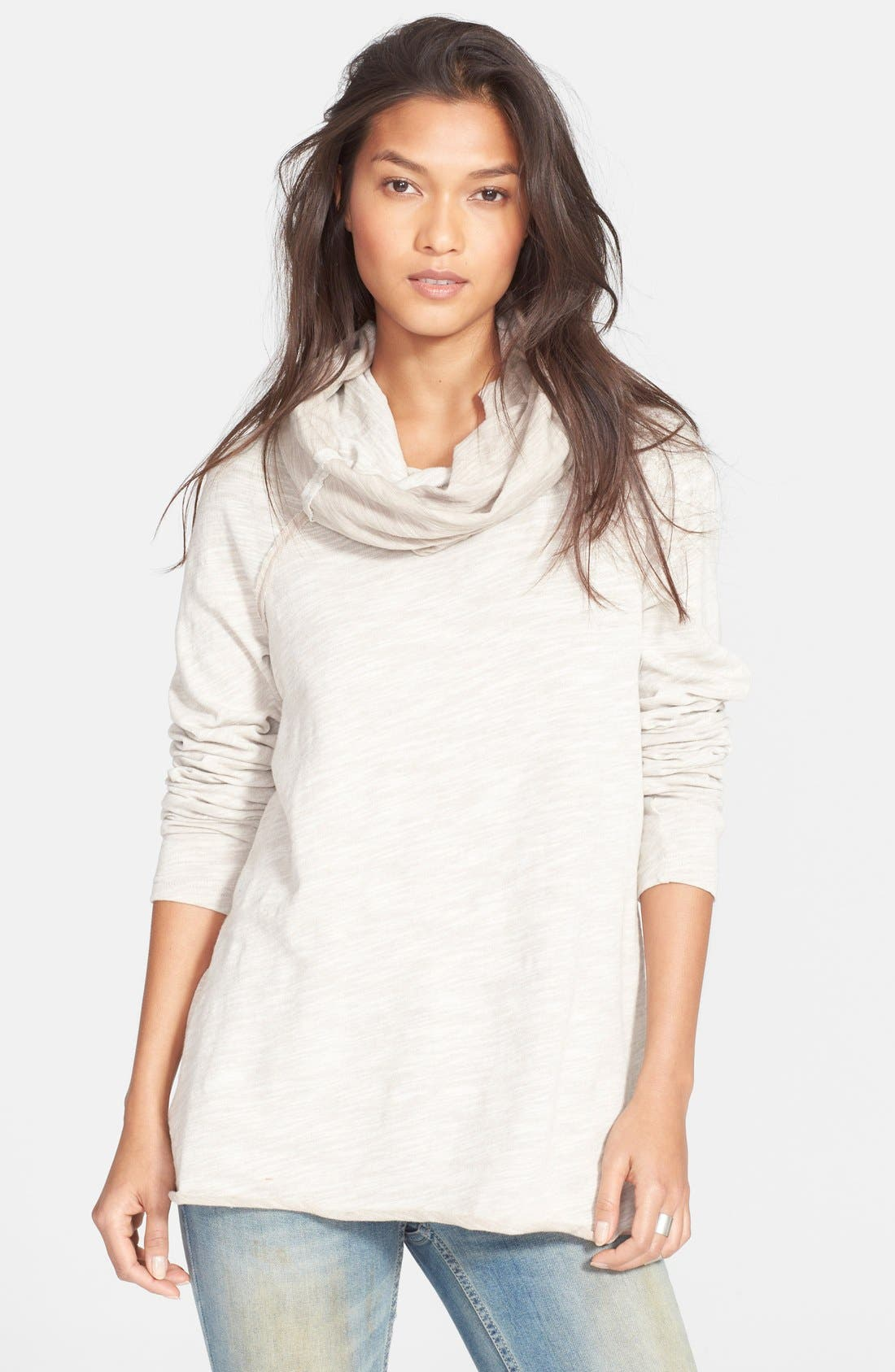 'Beach Cocoon' Cowl Neck Pullover,                         Main,                         color,
