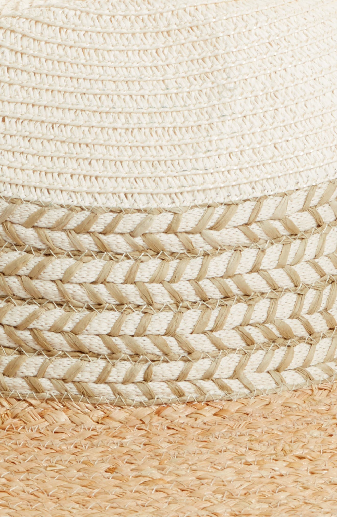 Mixed Media Panama Hat,                             Alternate thumbnail 2, color,                             235