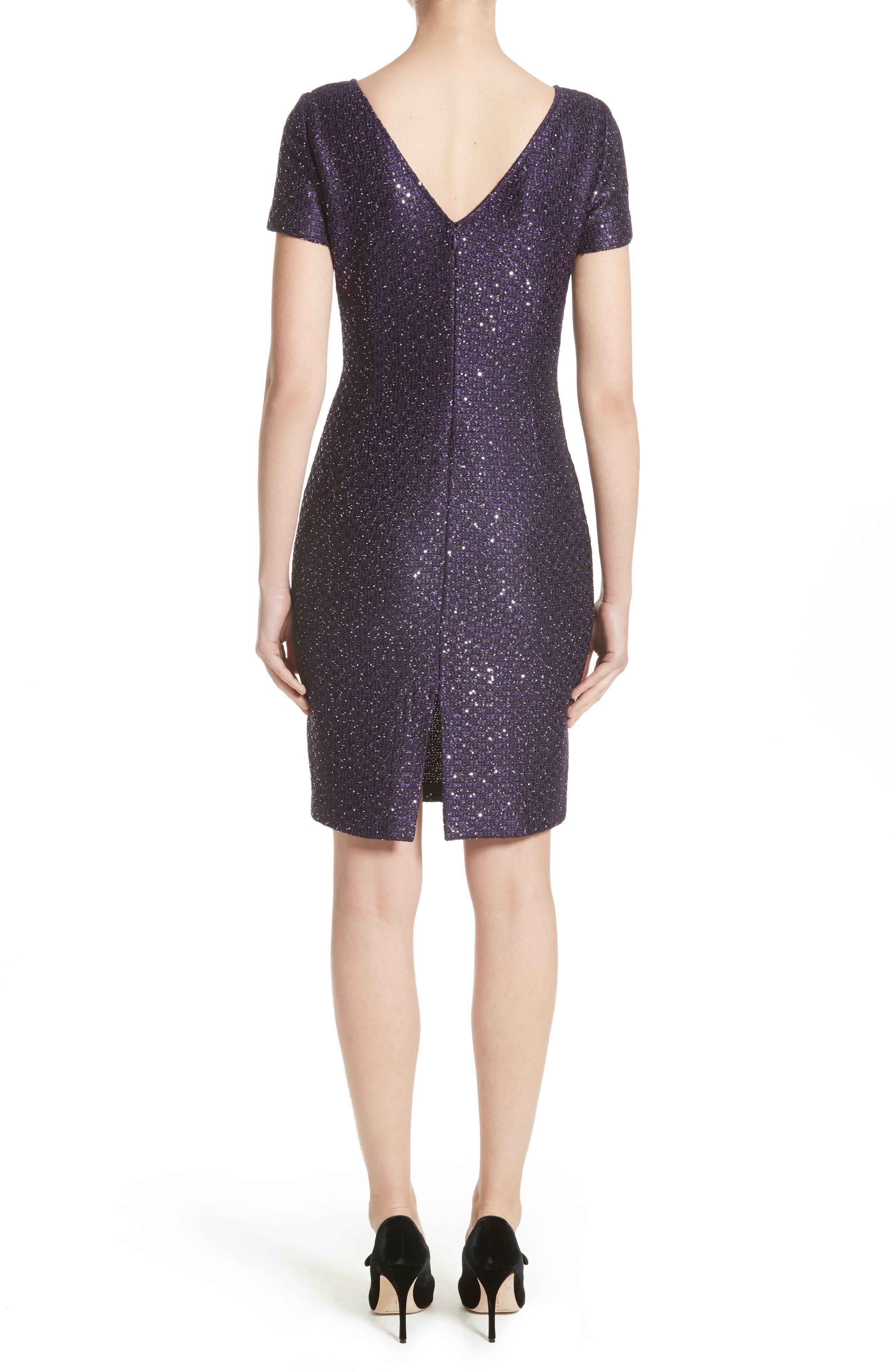 Hansh Sequin Knit Dress,                             Alternate thumbnail 2, color,                             500