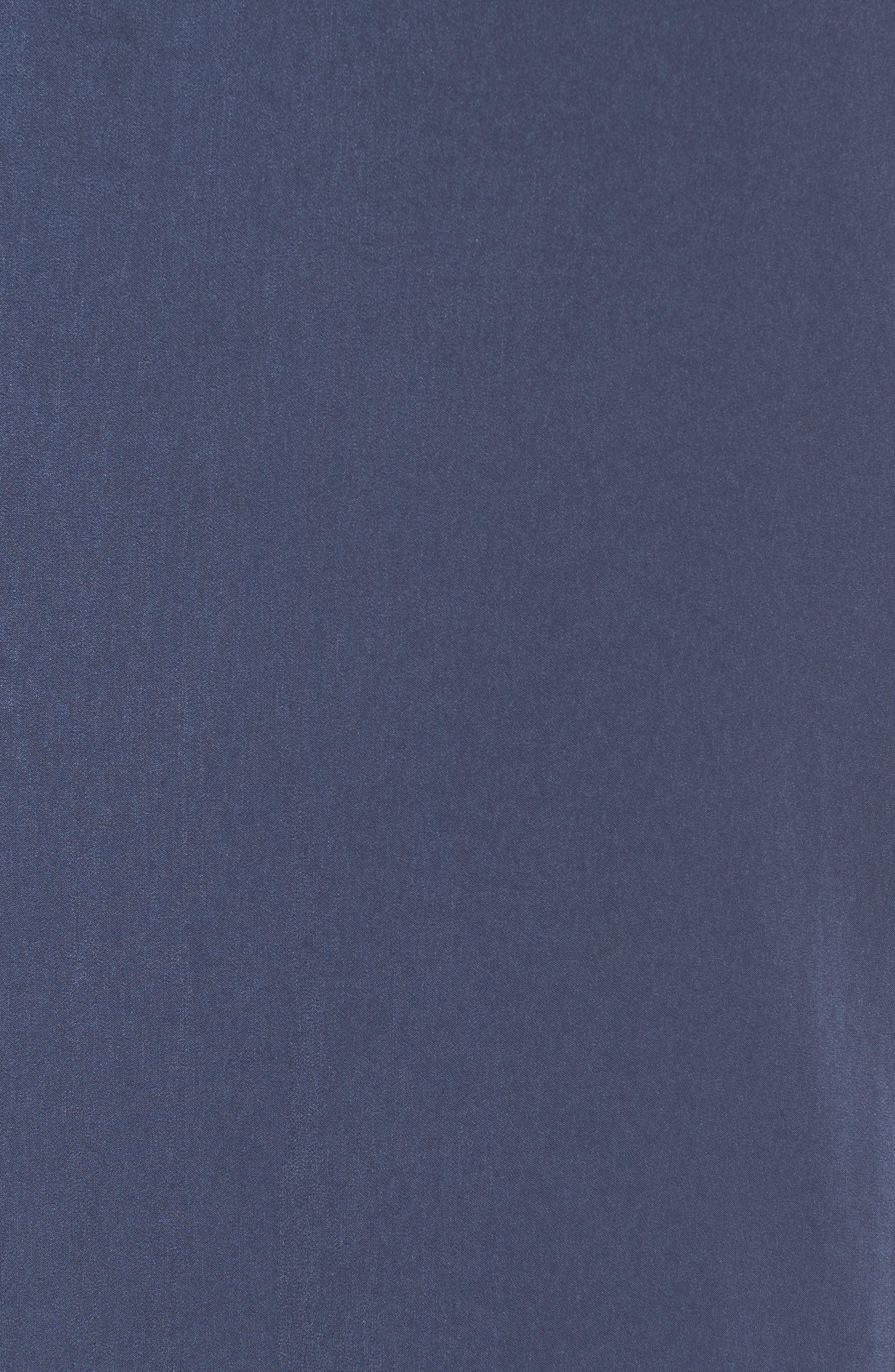 Satin Midi Slipdress,                             Alternate thumbnail 10, color,