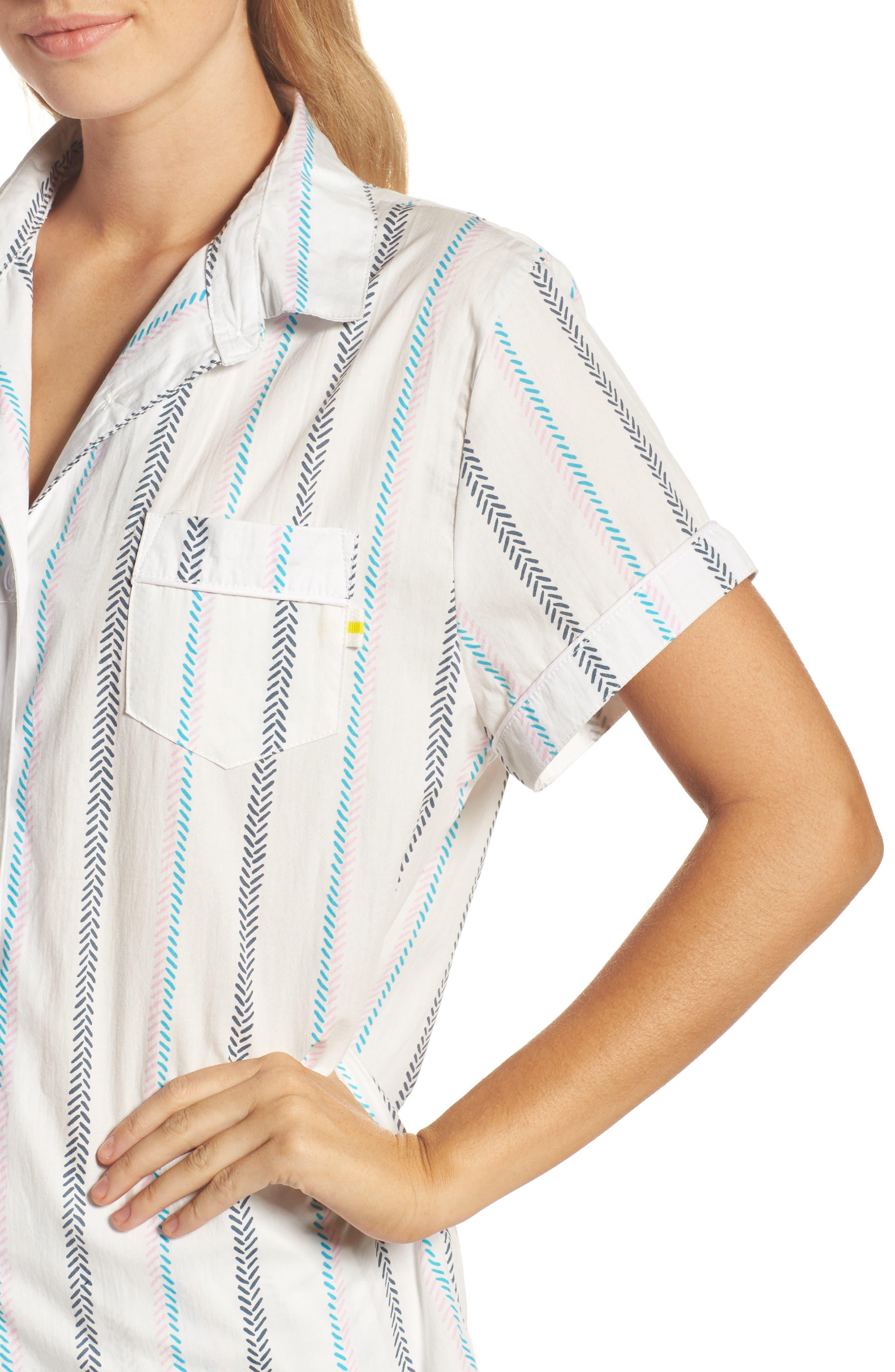 Kit Short Pajamas,                             Alternate thumbnail 4, color,