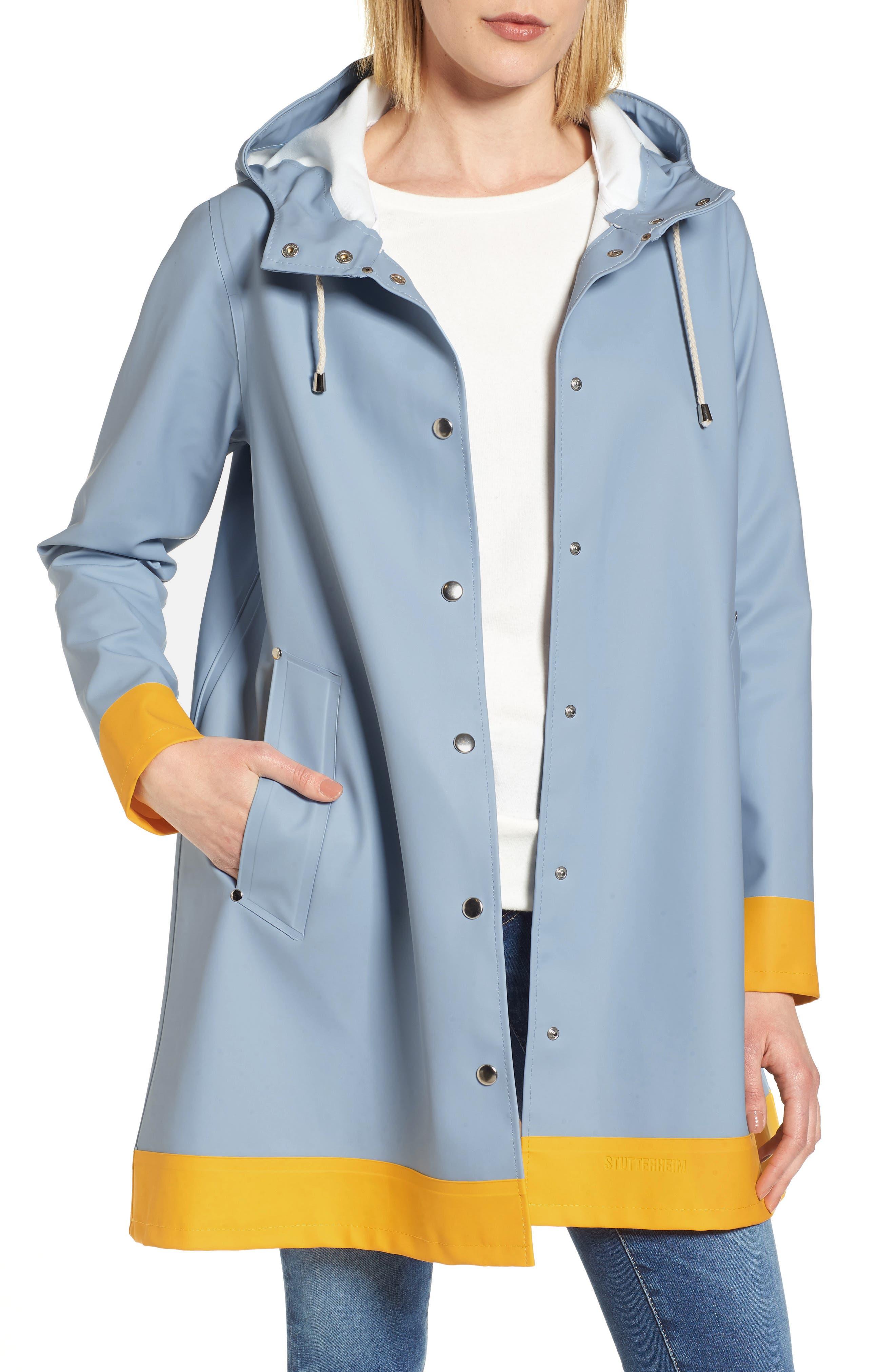 Mosebacke Frame Colorblock Raincoat,                             Main thumbnail 2, color,