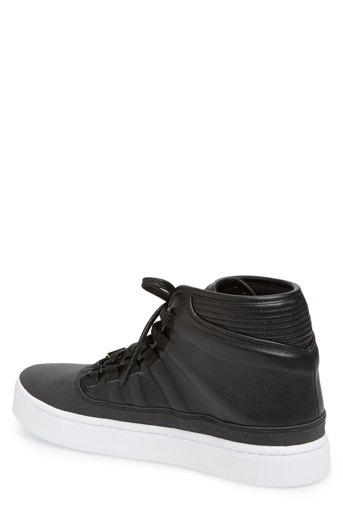 'Jordan - Westbrook 0' High Top Sneaker,                             Alternate thumbnail 4, color,                             001