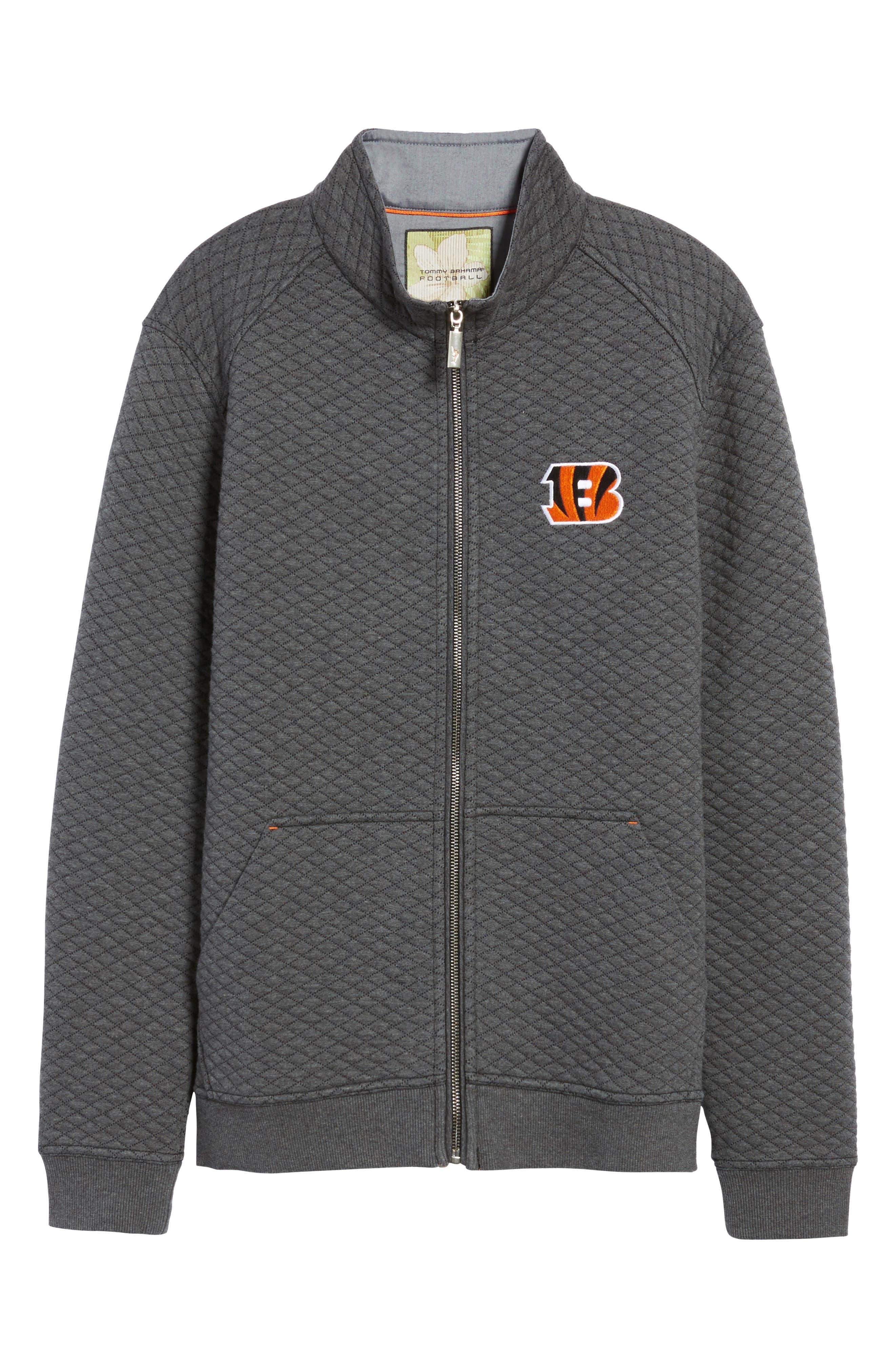 NFL Quiltessential Full Zip Sweatshirt,                             Alternate thumbnail 159, color,