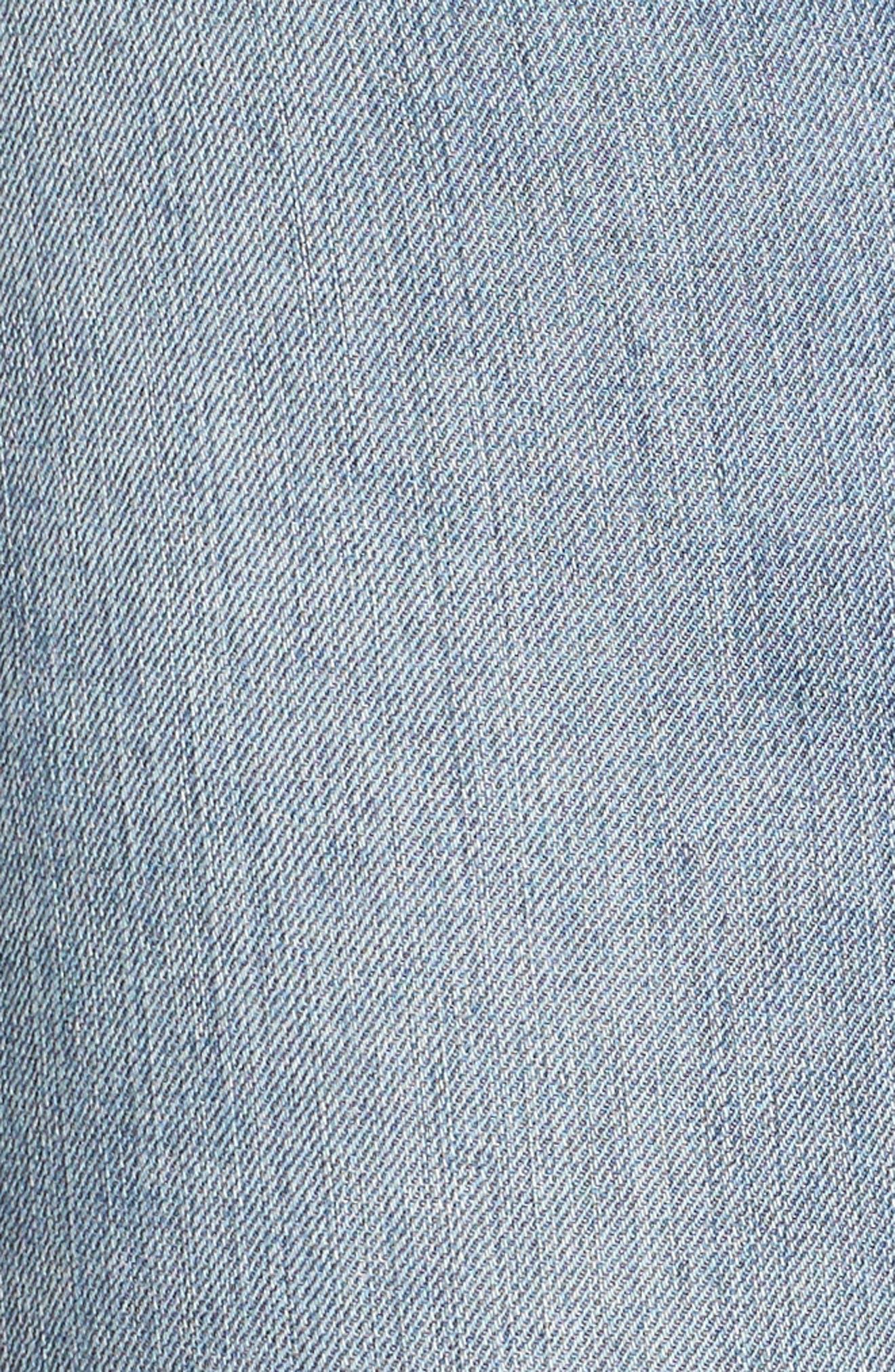 Good Legs High Rise Released Hem Skinny Jeans,                             Alternate thumbnail 5, color,                             402