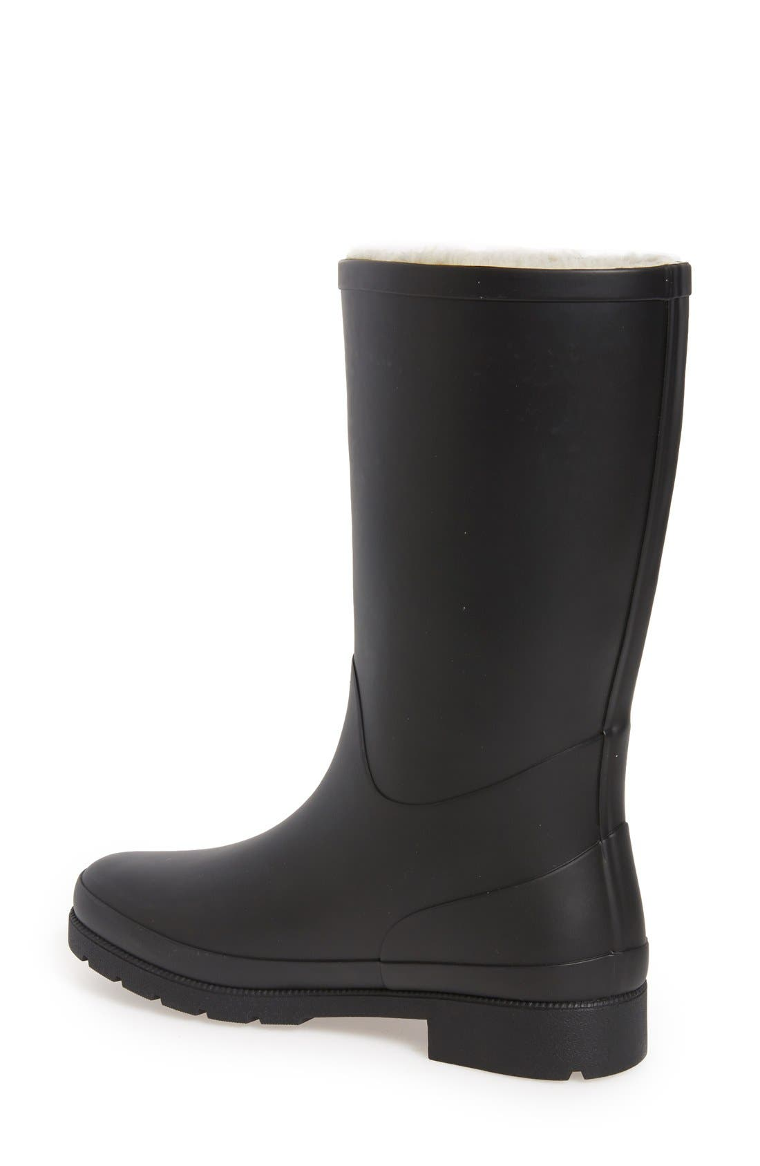 TRETORN,                             'Libby' Rain Boot,                             Alternate thumbnail 2, color,                             001