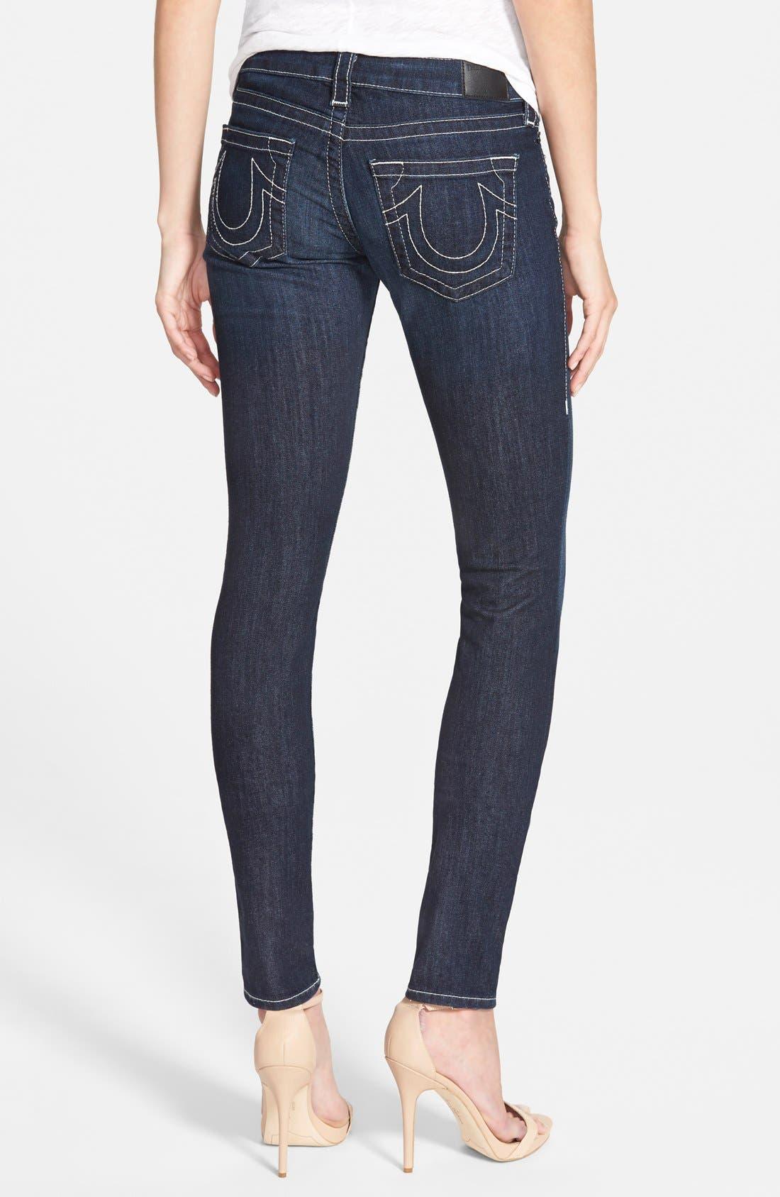 'Stella' Skinny Jeans,                             Alternate thumbnail 6, color,                             475