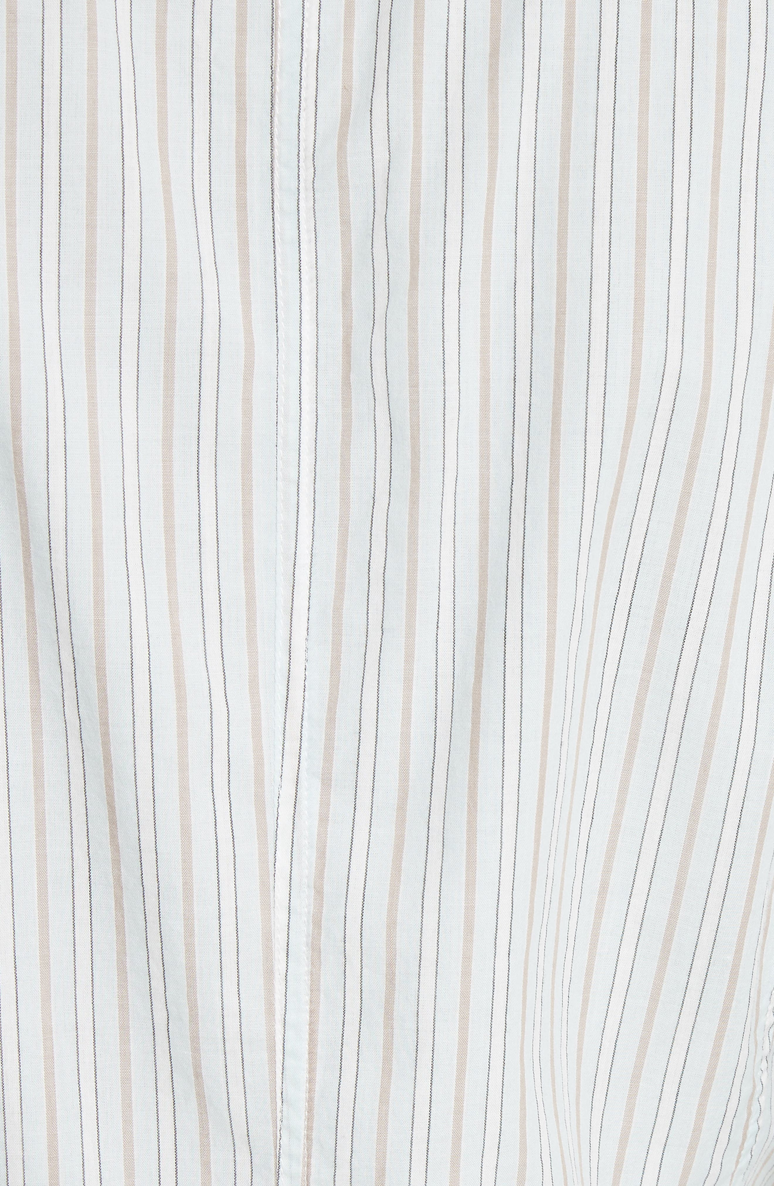 Mixed Stripe Top,                             Alternate thumbnail 5, color,                             186