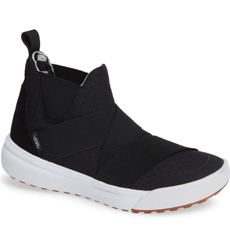 Vans Ultrarange Gore Hi Slip-On Sneaker In Black  664ca1c72
