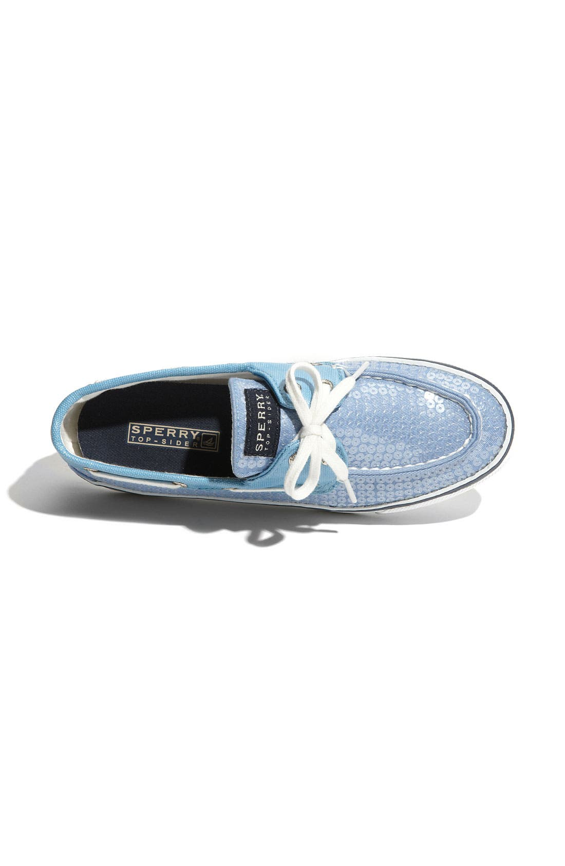 Top-Sider<sup>®</sup> 'Bahama' Sequined Boat Shoe,                             Alternate thumbnail 143, color,