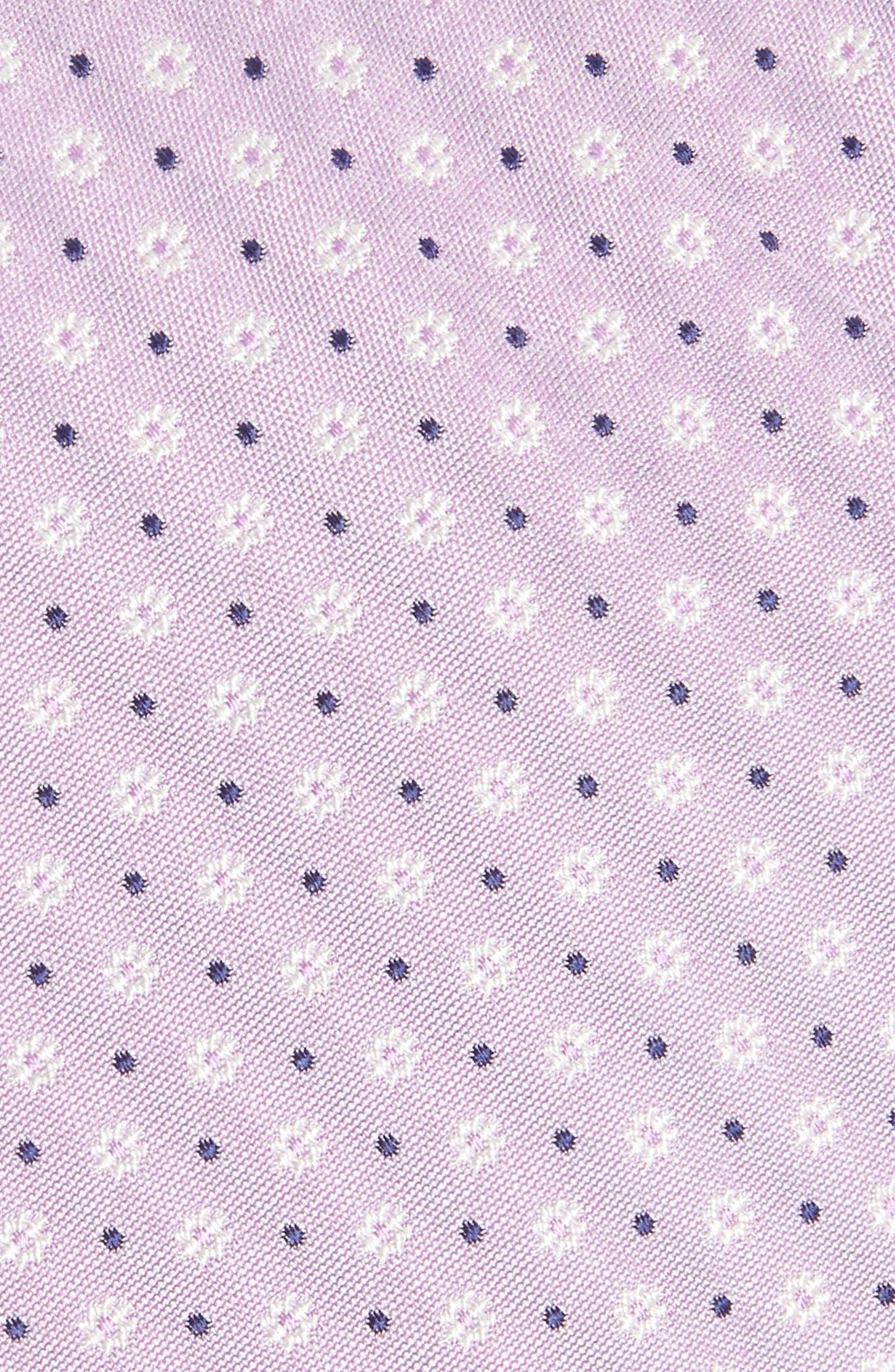 Benson Floral Silk Tie,                             Alternate thumbnail 2, color,