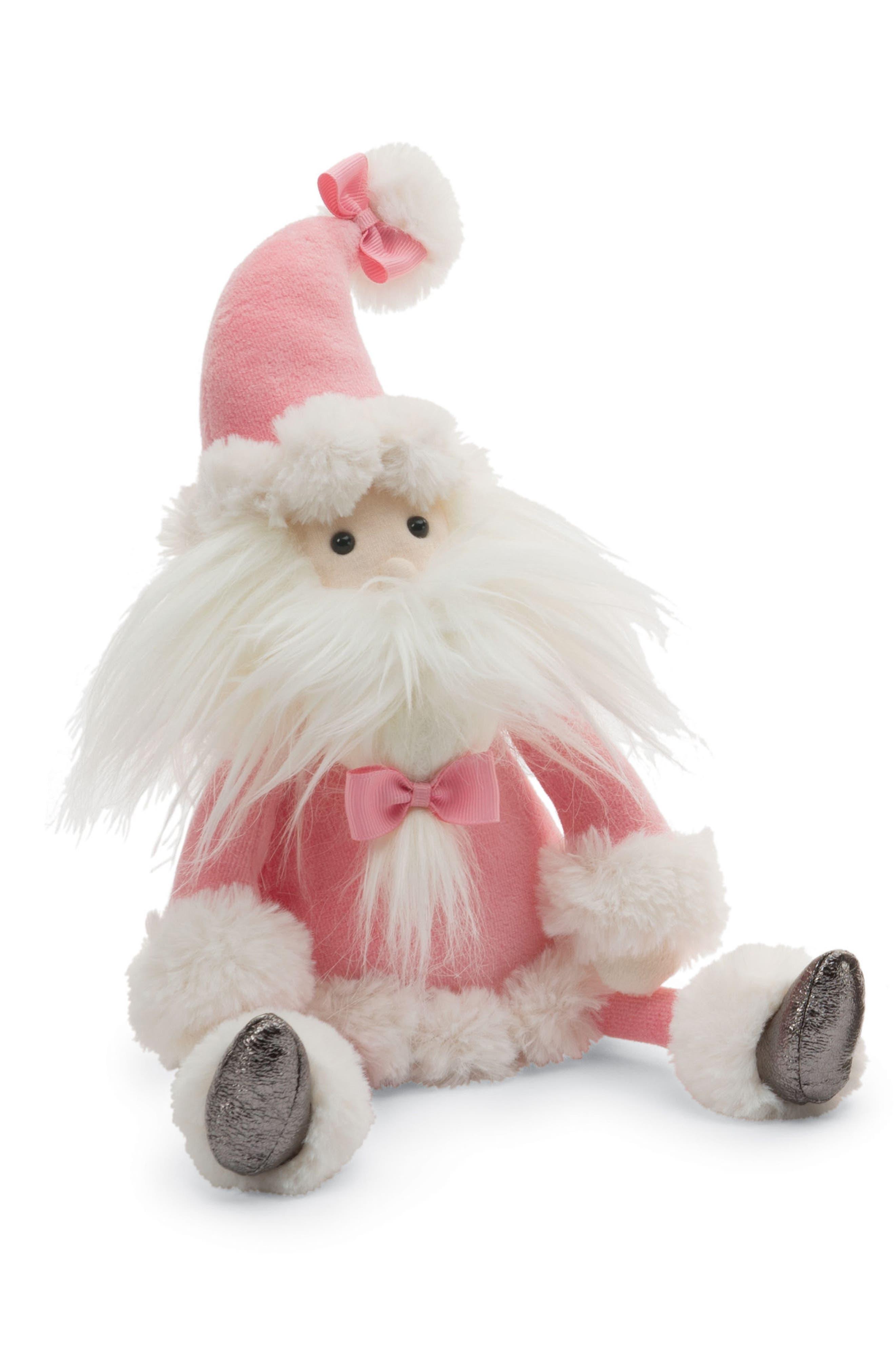 Medium Splendid Santa Stuffed Doll,                             Alternate thumbnail 3, color,                             680