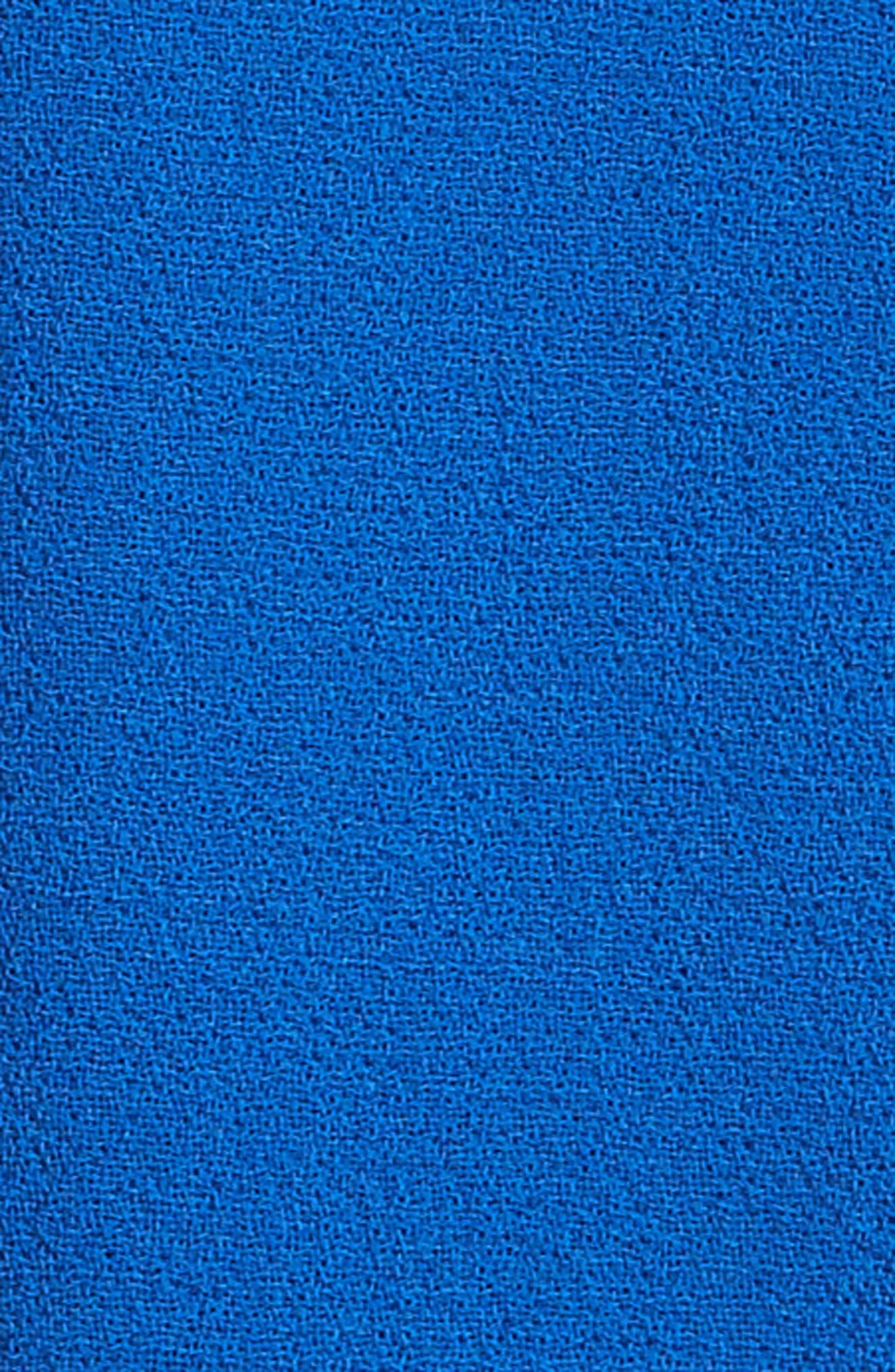 Carmen Marc Valvo Double Face Wool Crepe Sheath Dress,                             Alternate thumbnail 10, color,