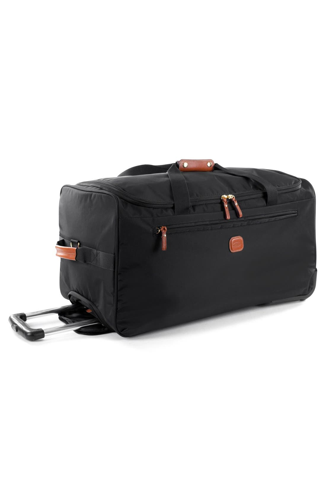 X-Bag 28-Inch Rolling Duffel Bag,                             Alternate thumbnail 3, color,                             BLACK