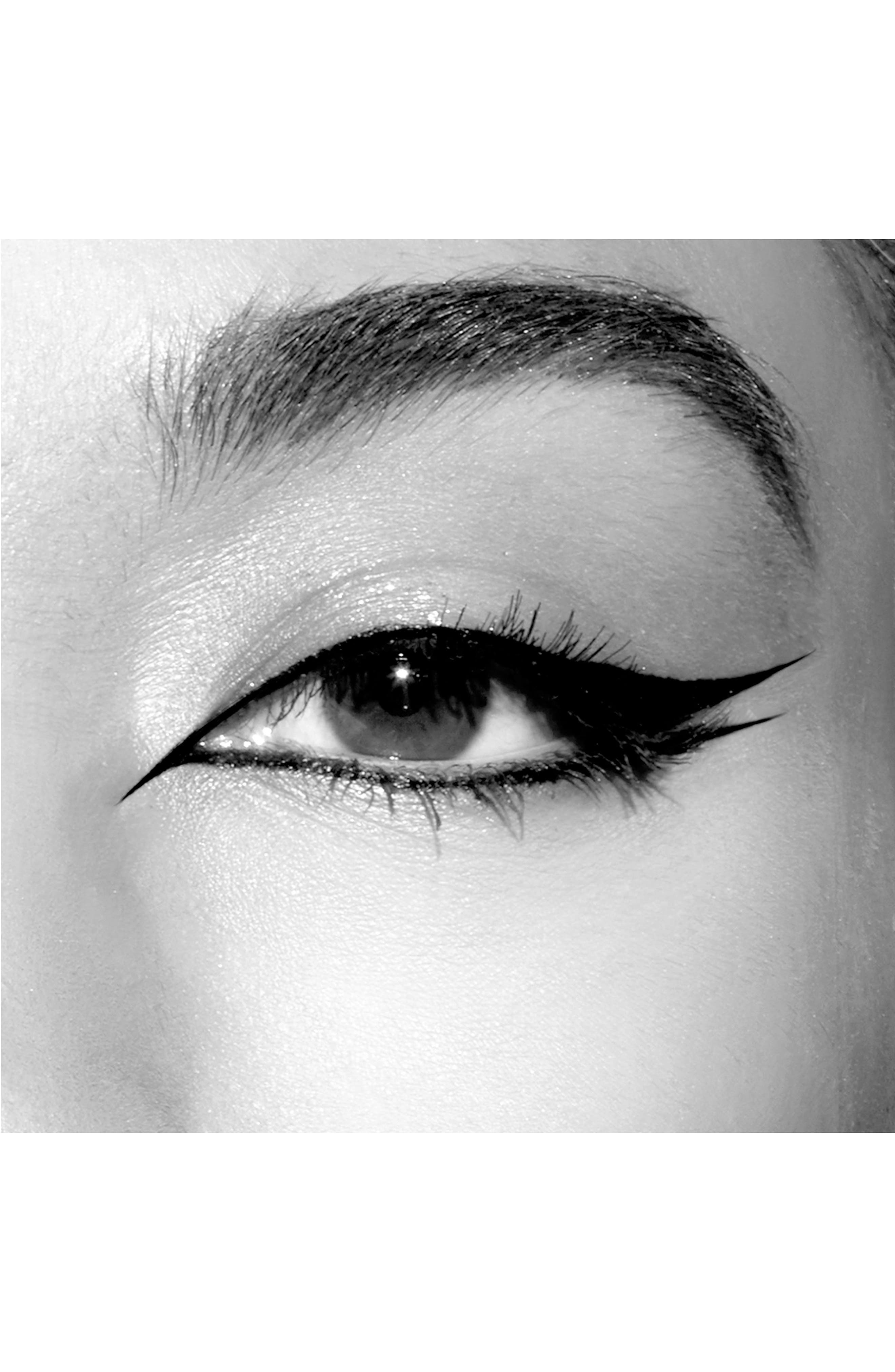 Stay All Day<sup>®</sup> Waterproof Micro Tip Liquid Eyeliner,                             Alternate thumbnail 3, color,                             INTENSE BLACK