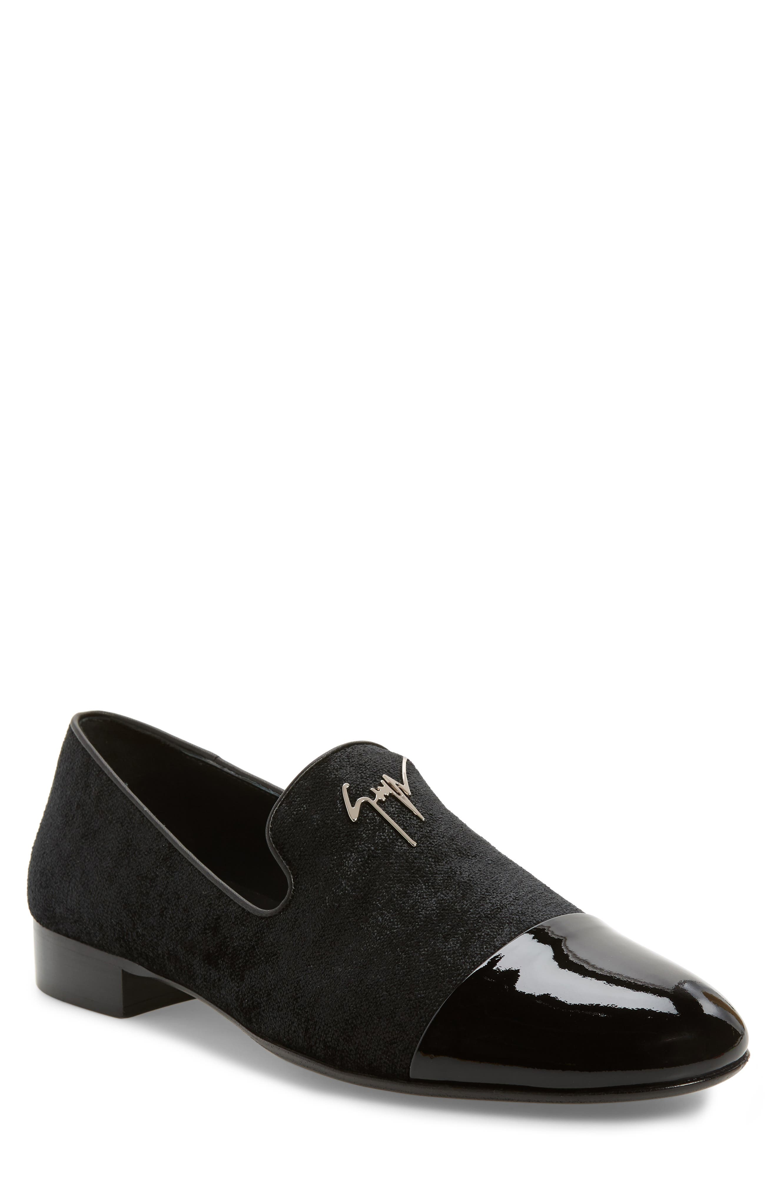 Tuxedo Loafer, Main, color, BLACK
