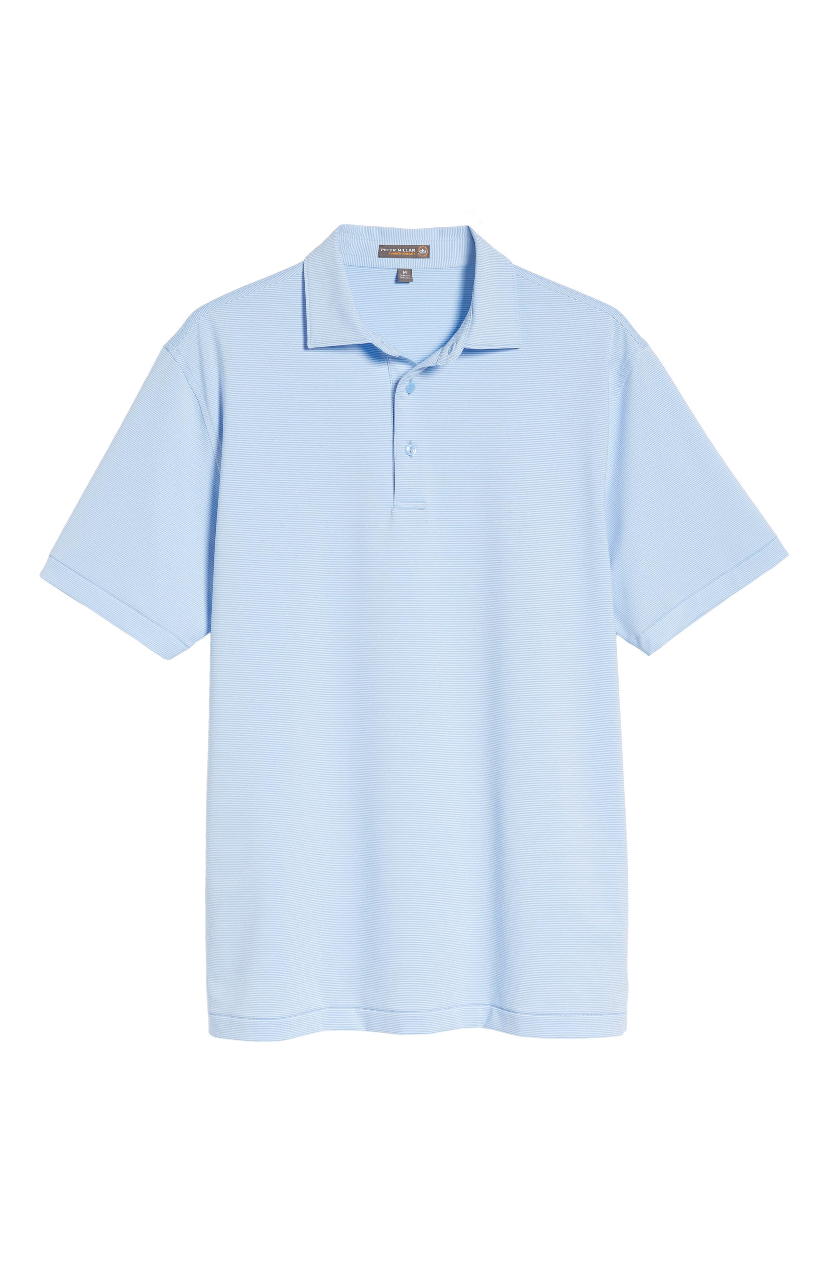Sean Jubilee Stripe Jersey Polo,                             Alternate thumbnail 28, color,