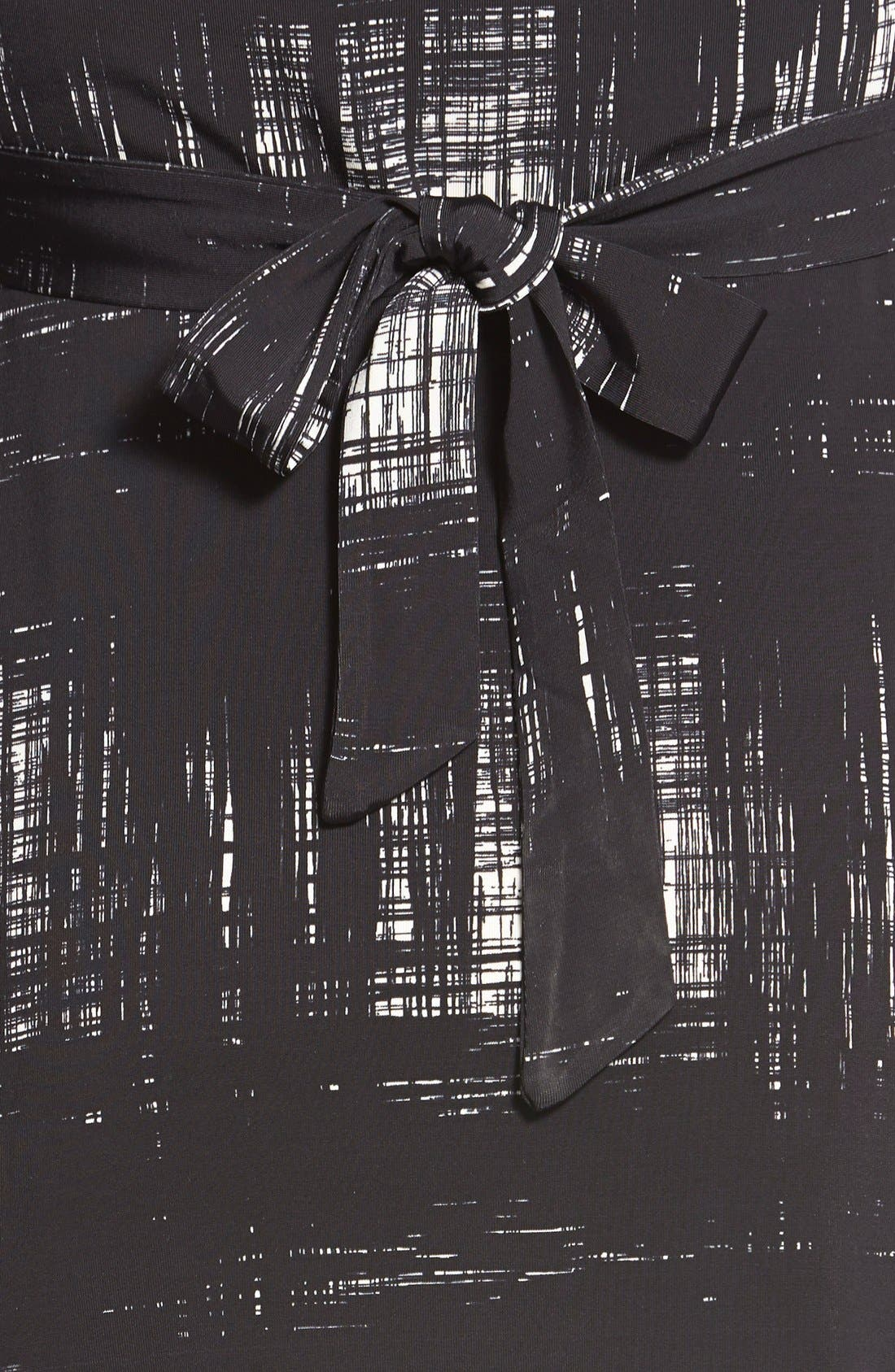 'Ilana' Belted Maternity Dress,                             Alternate thumbnail 18, color,