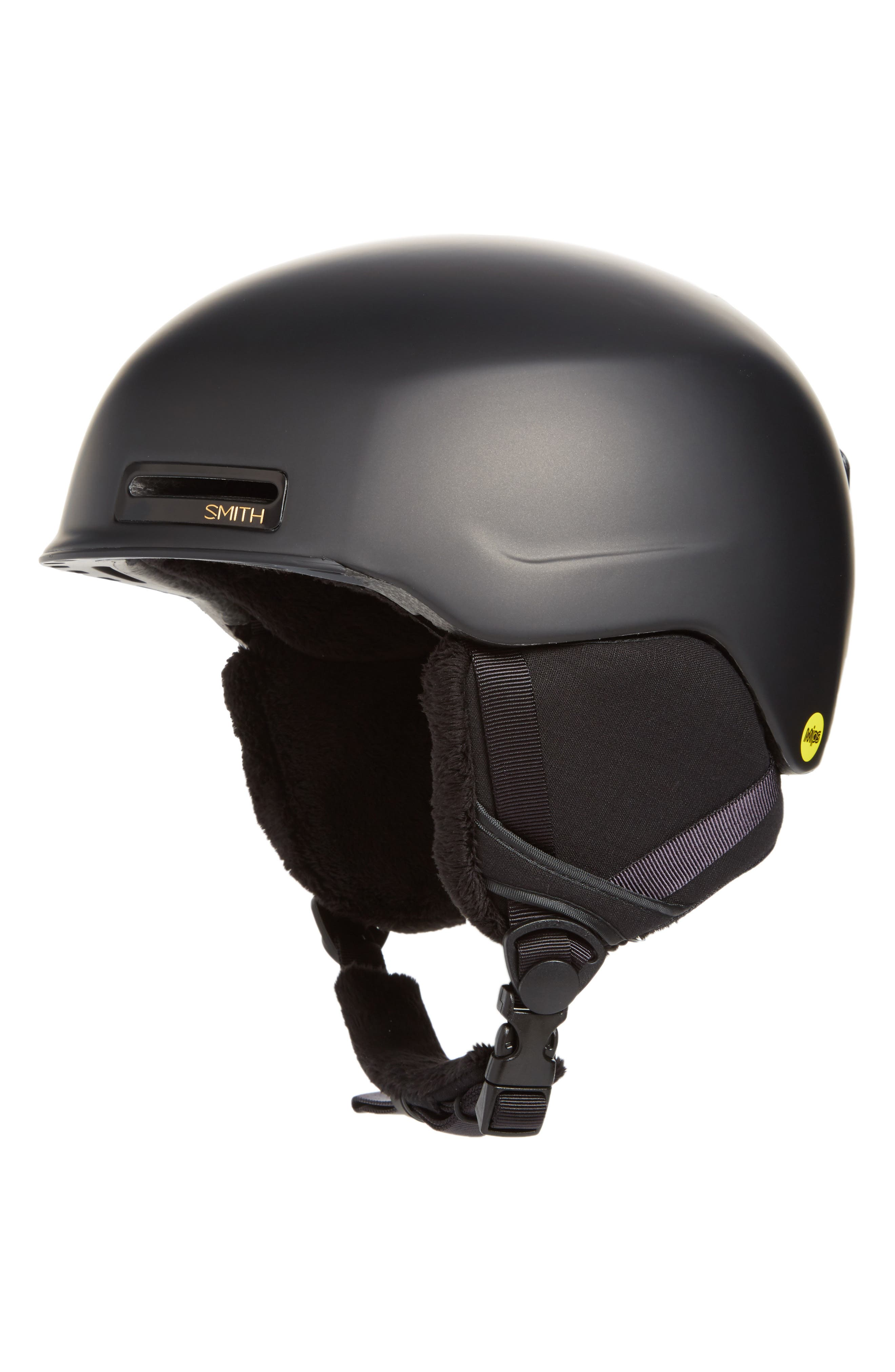 SMITH,                             Allure Snow Helmet with MIPS,                             Main thumbnail 1, color,                             MATTE BLACK PEARL