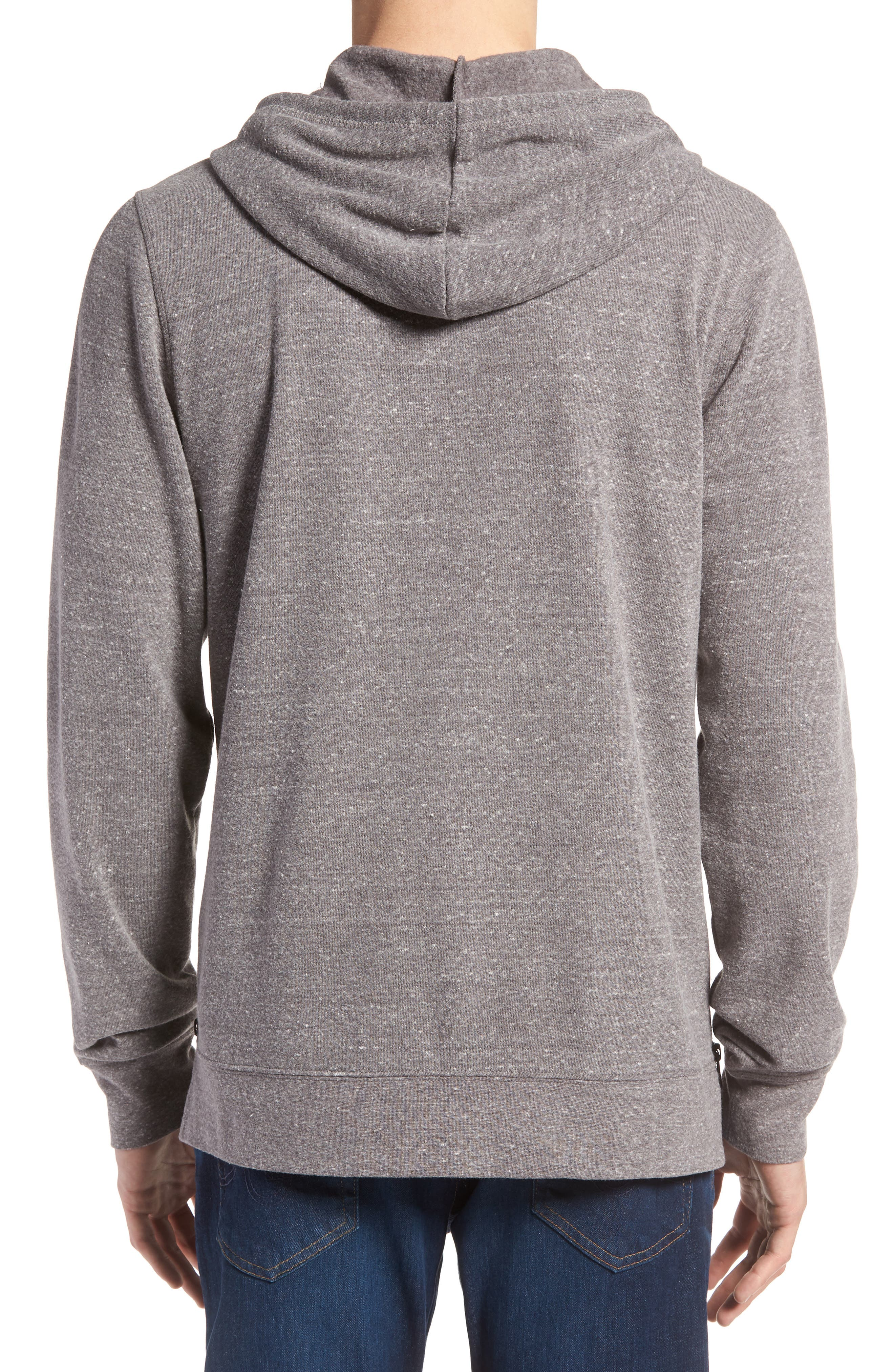 THREADS FOR THOUGHT,                             Barkeley Side Zip Hoodie Sweatshirt,                             Alternate thumbnail 2, color,                             020