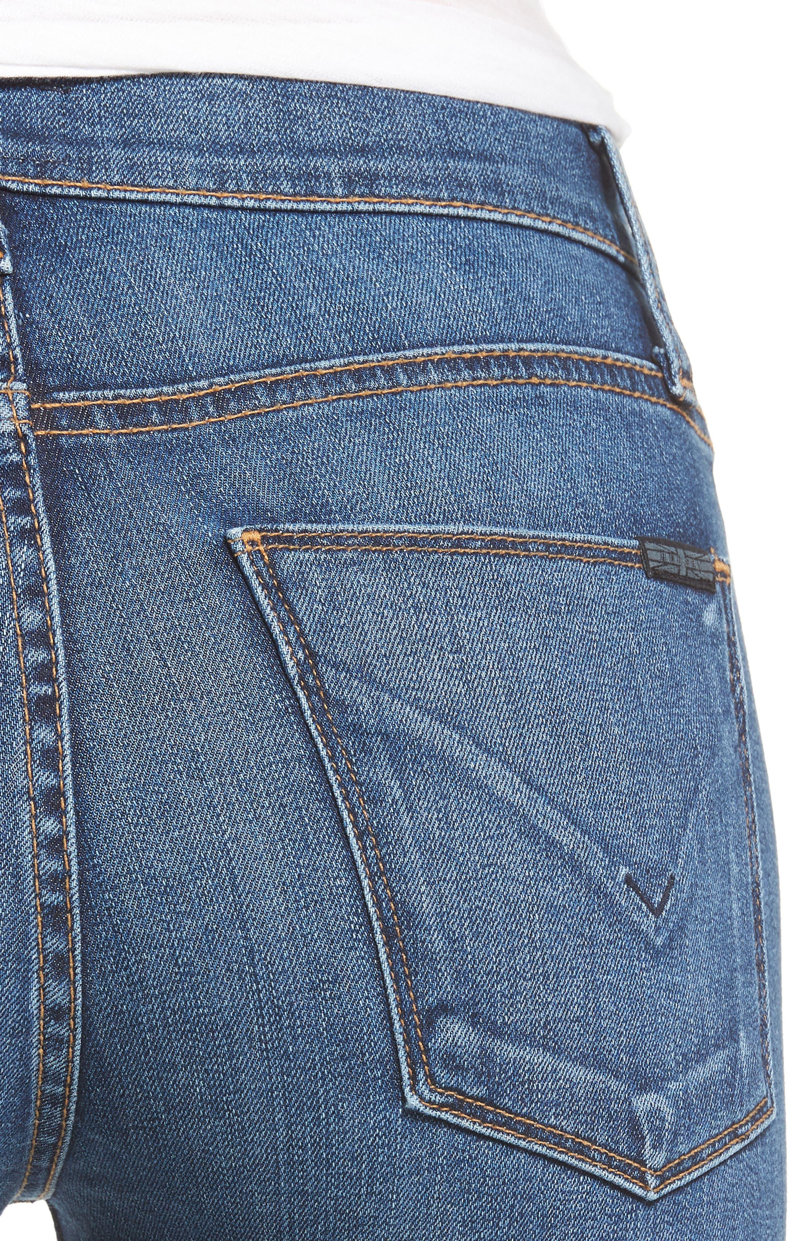 Nico Ankle Super Skinny Jeans,                             Alternate thumbnail 4, color,                             420