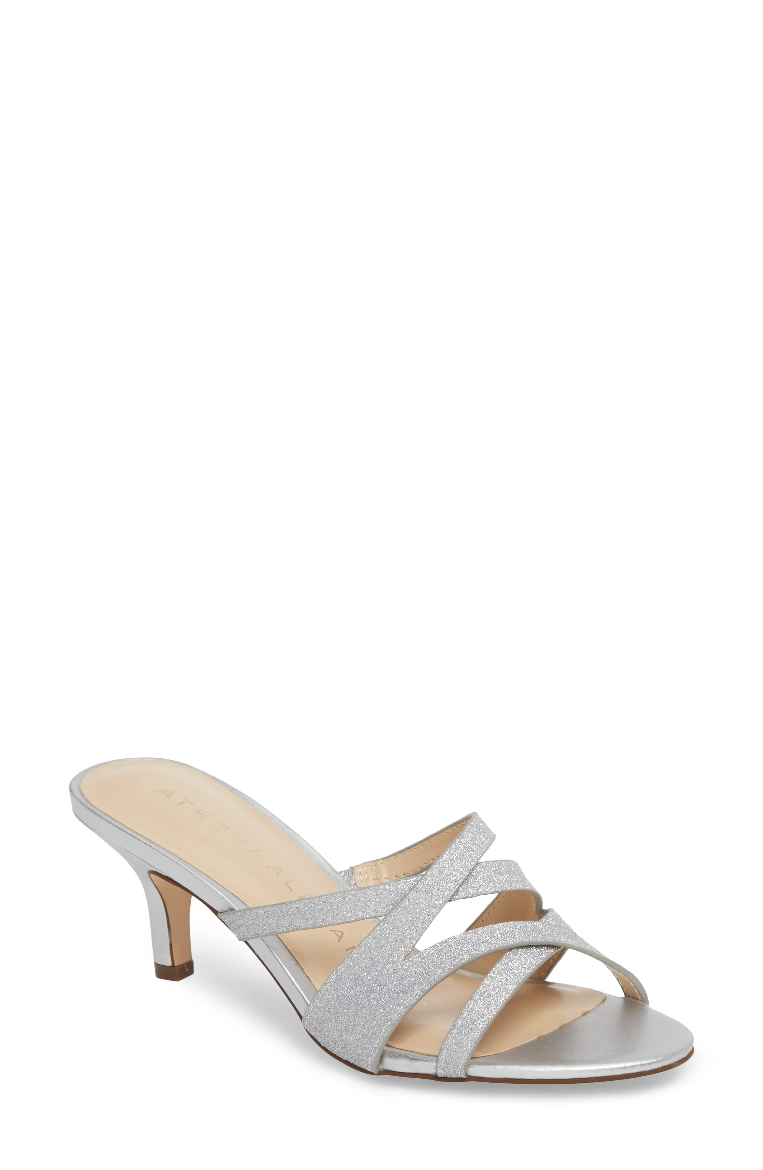 Starlite Sandal,                         Main,                         color, SILVER FABRIC