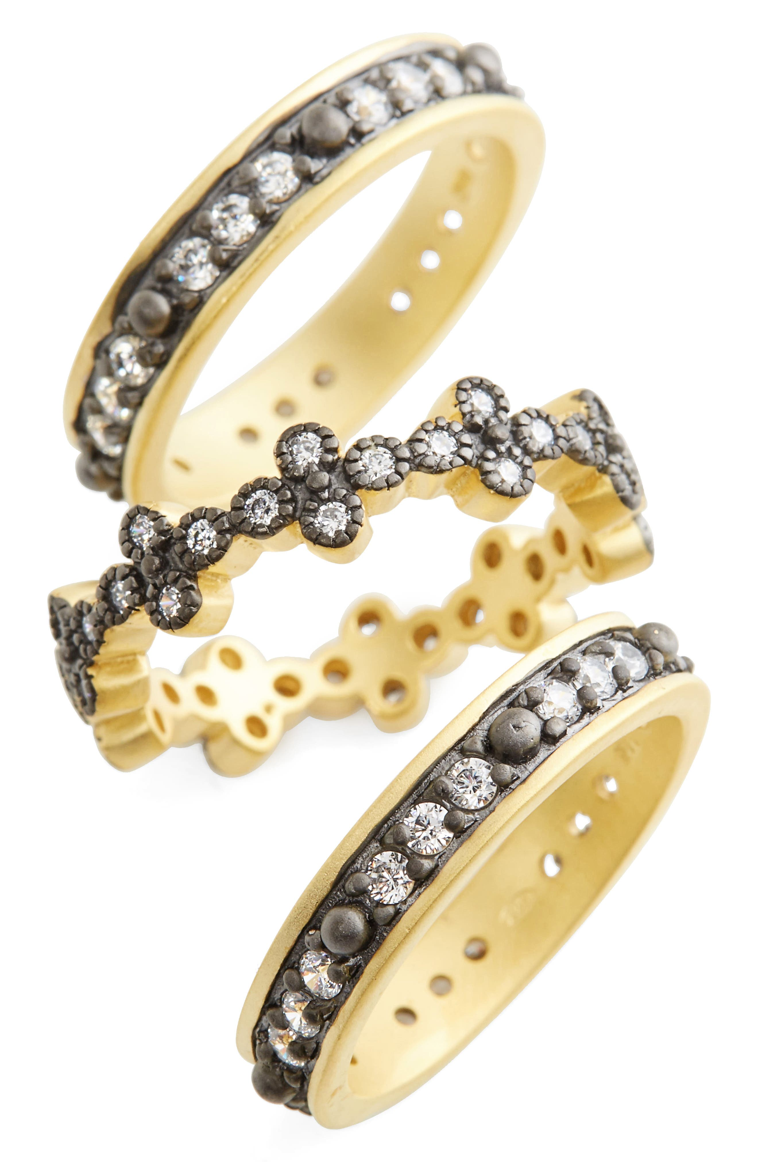 Set of 3 Stacking Rings,                         Main,                         color,