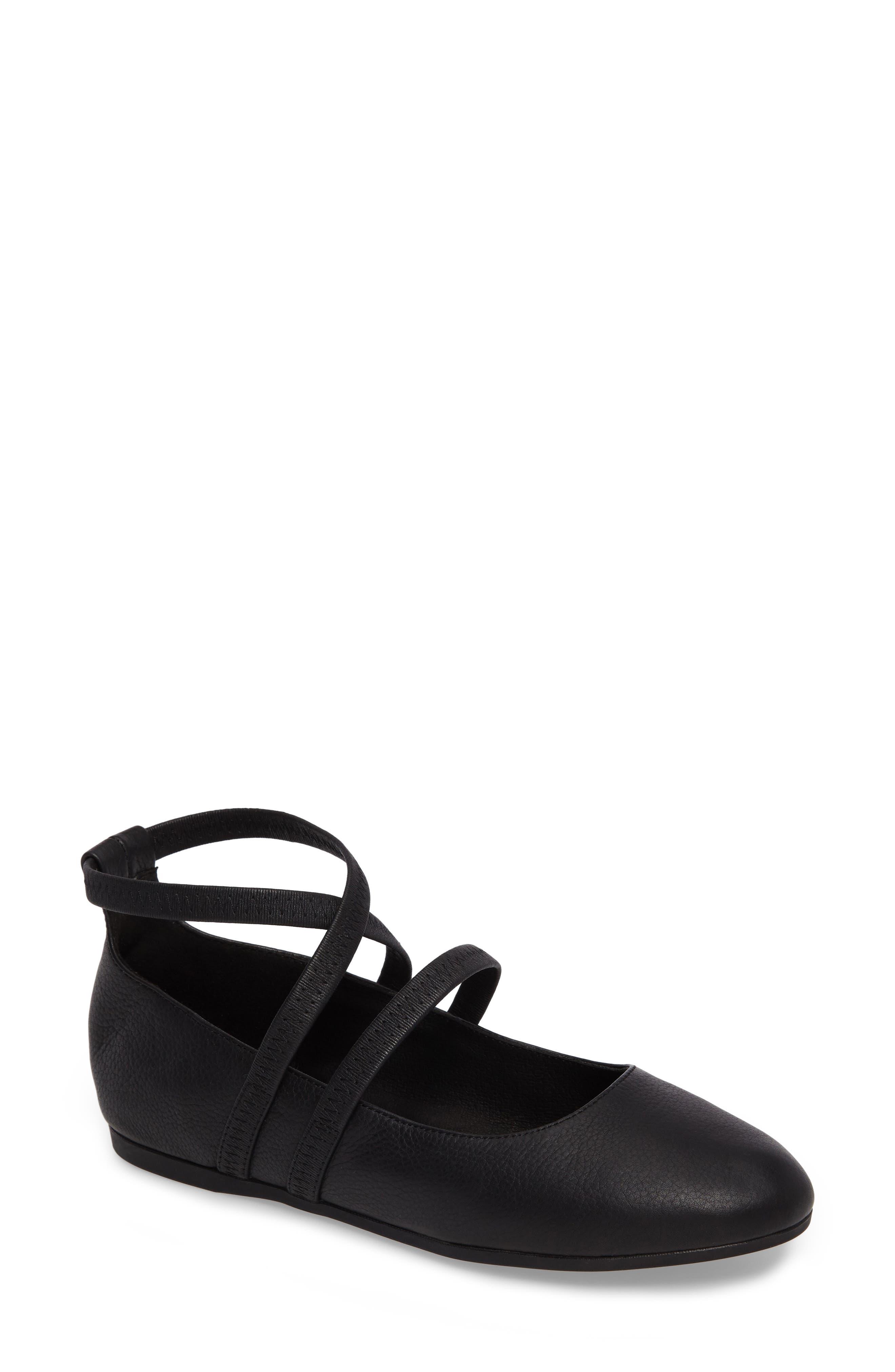 Joe Strappy Ballet Flat,                         Main,                         color, 001