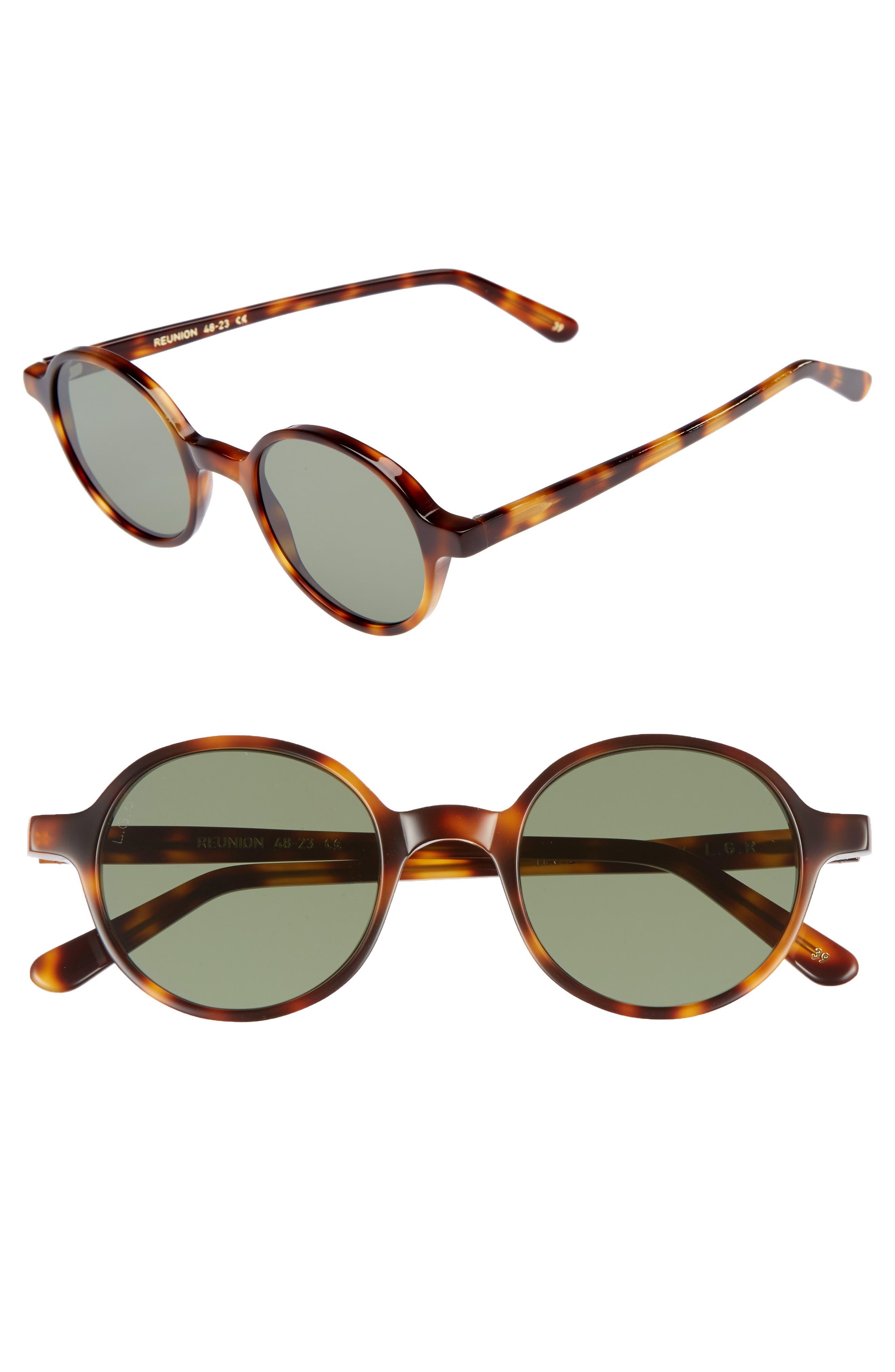 Reunion 48mm Sunglasses,                             Main thumbnail 1, color,                             200