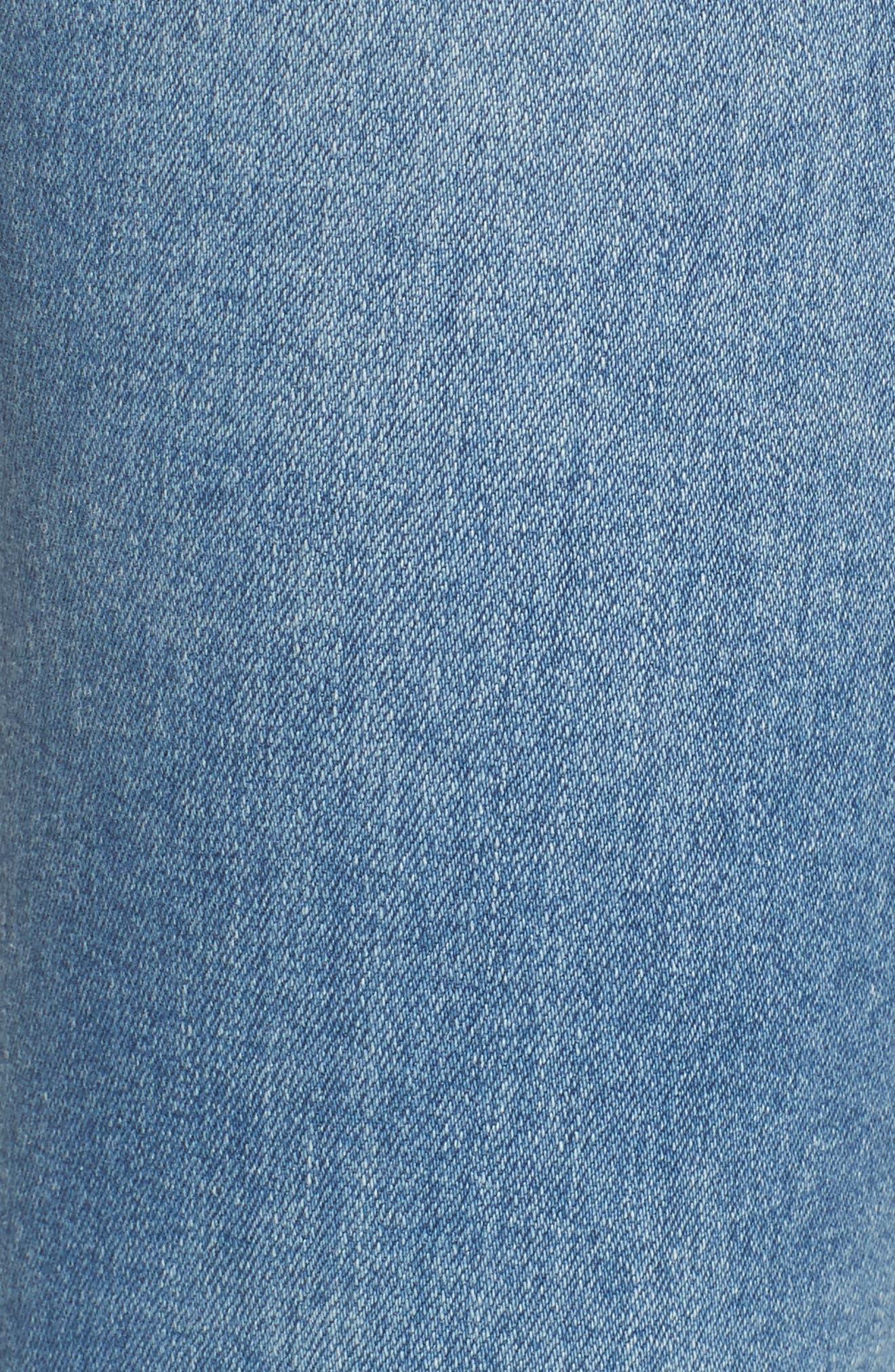 The Legging Super Skinny Jeans,                             Alternate thumbnail 5, color,