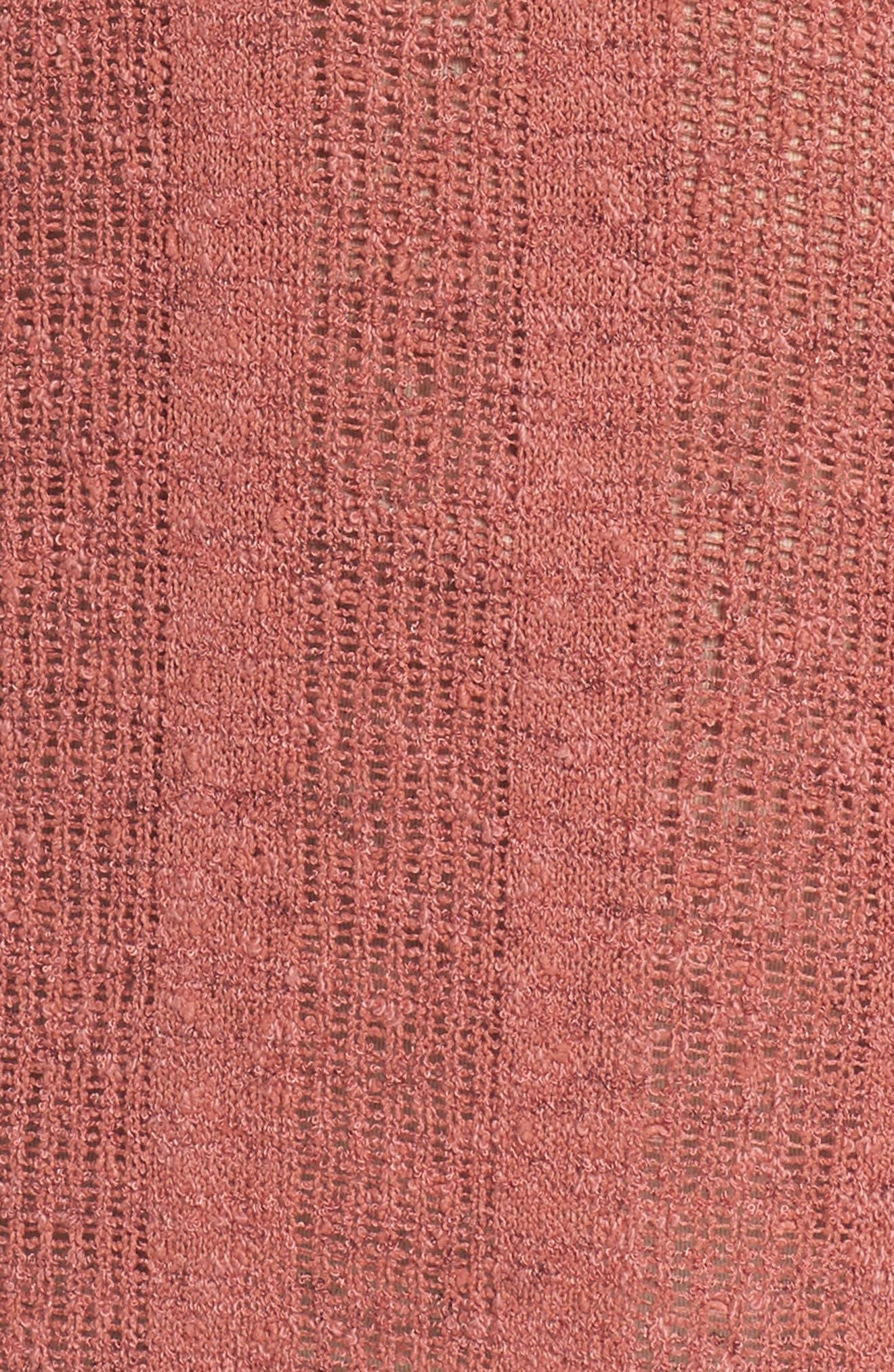 Drop Needle Sweater,                             Alternate thumbnail 5, color,