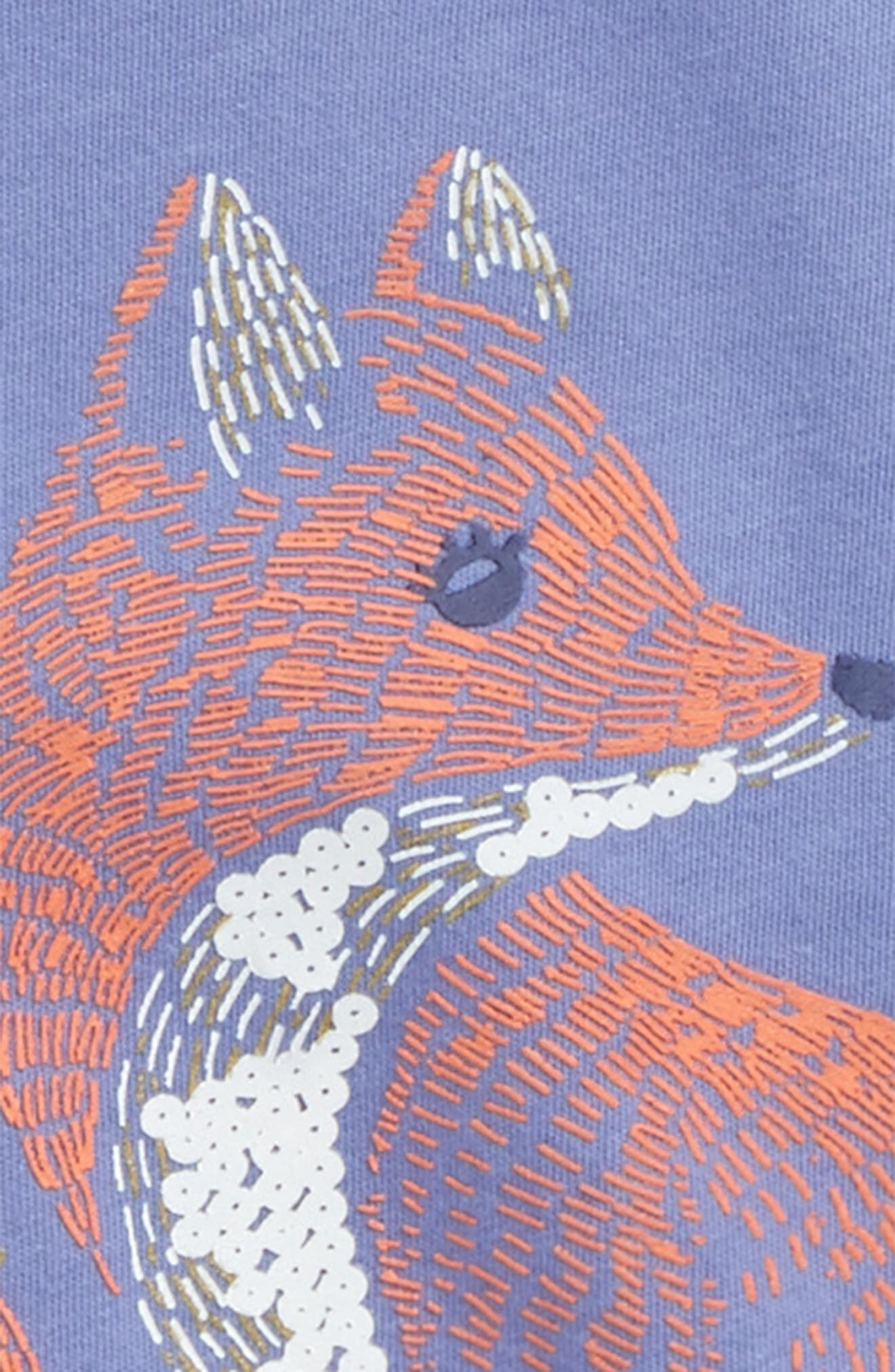 Fox Graphic Tee,                             Alternate thumbnail 3, color,                             515