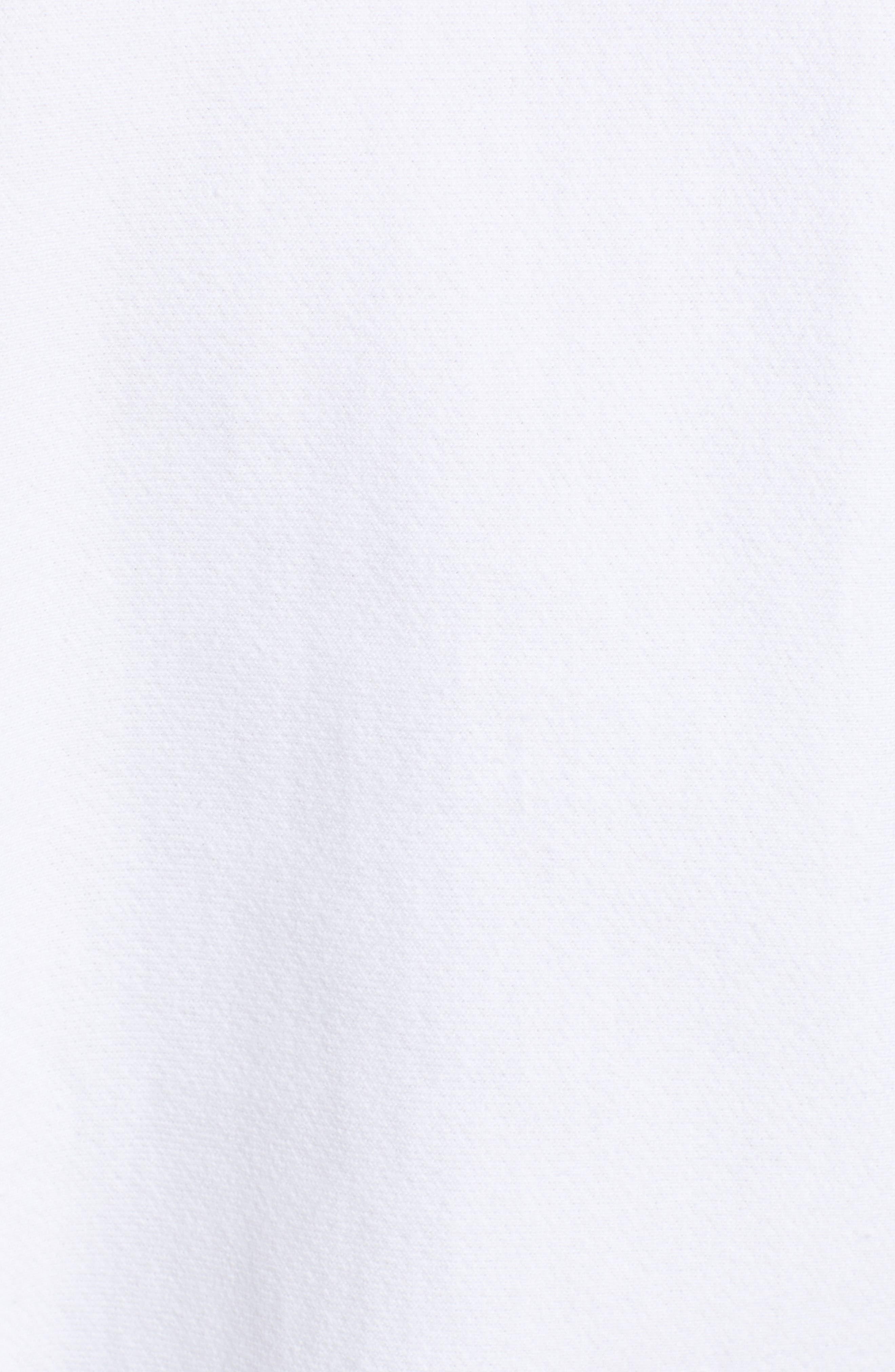 Sublimated Logo Sweatshirt,                             Alternate thumbnail 6, color,                             WHITE