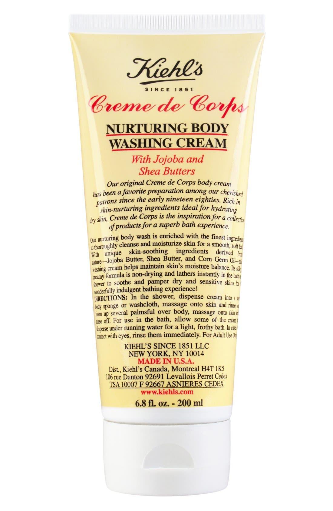 'Creme de Corps' Nurturing Body Washing Cream,                             Main thumbnail 1, color,                             000