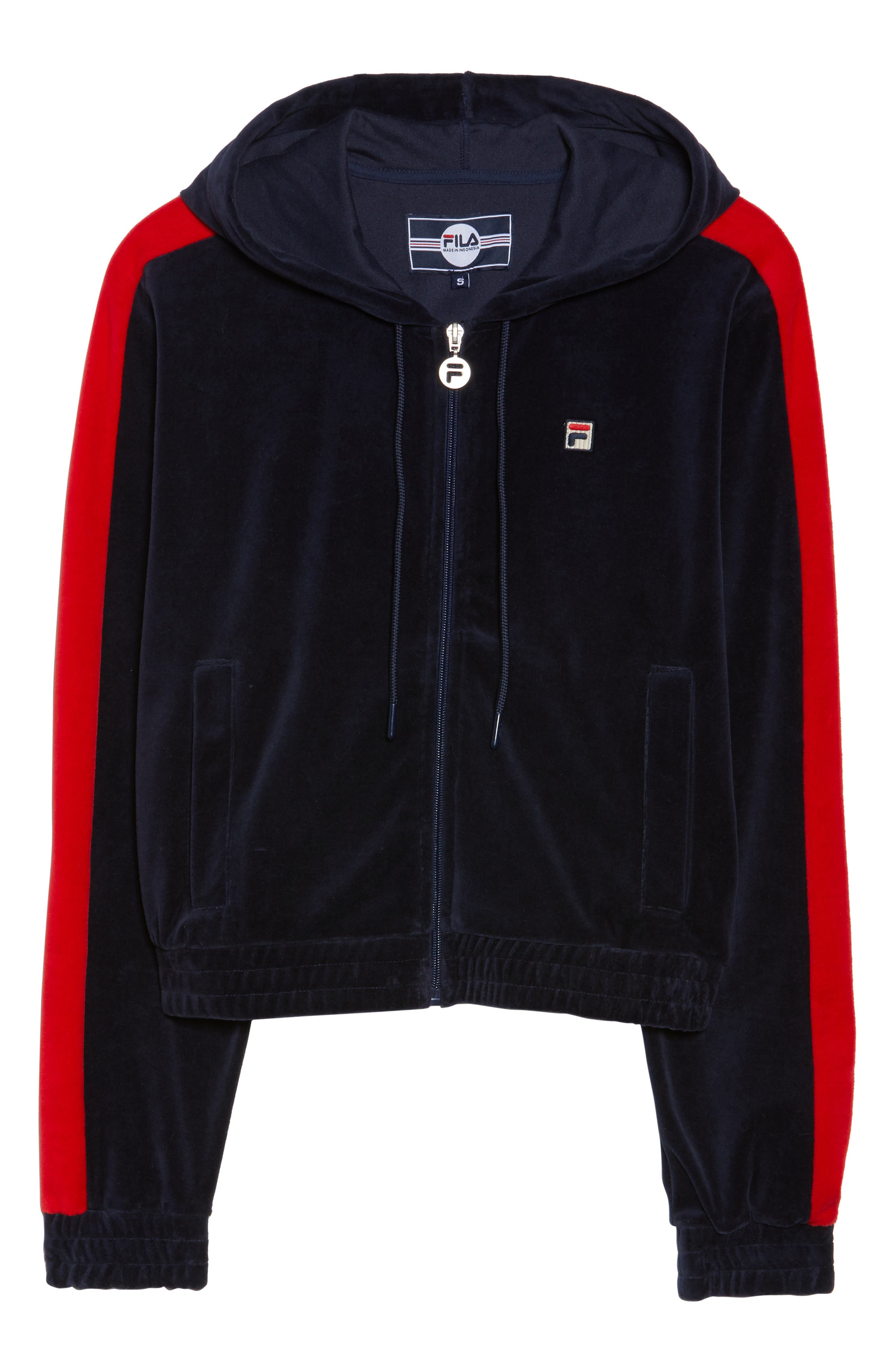 Carly Velour Hoodie,                             Alternate thumbnail 13, color,