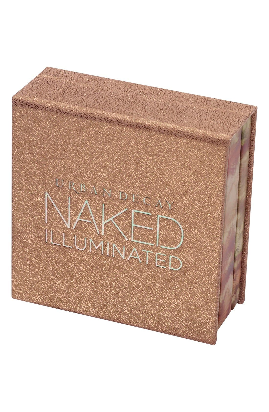 Naked Illuminated Shimmering Powder for Face & Body,                             Alternate thumbnail 3, color,                             220