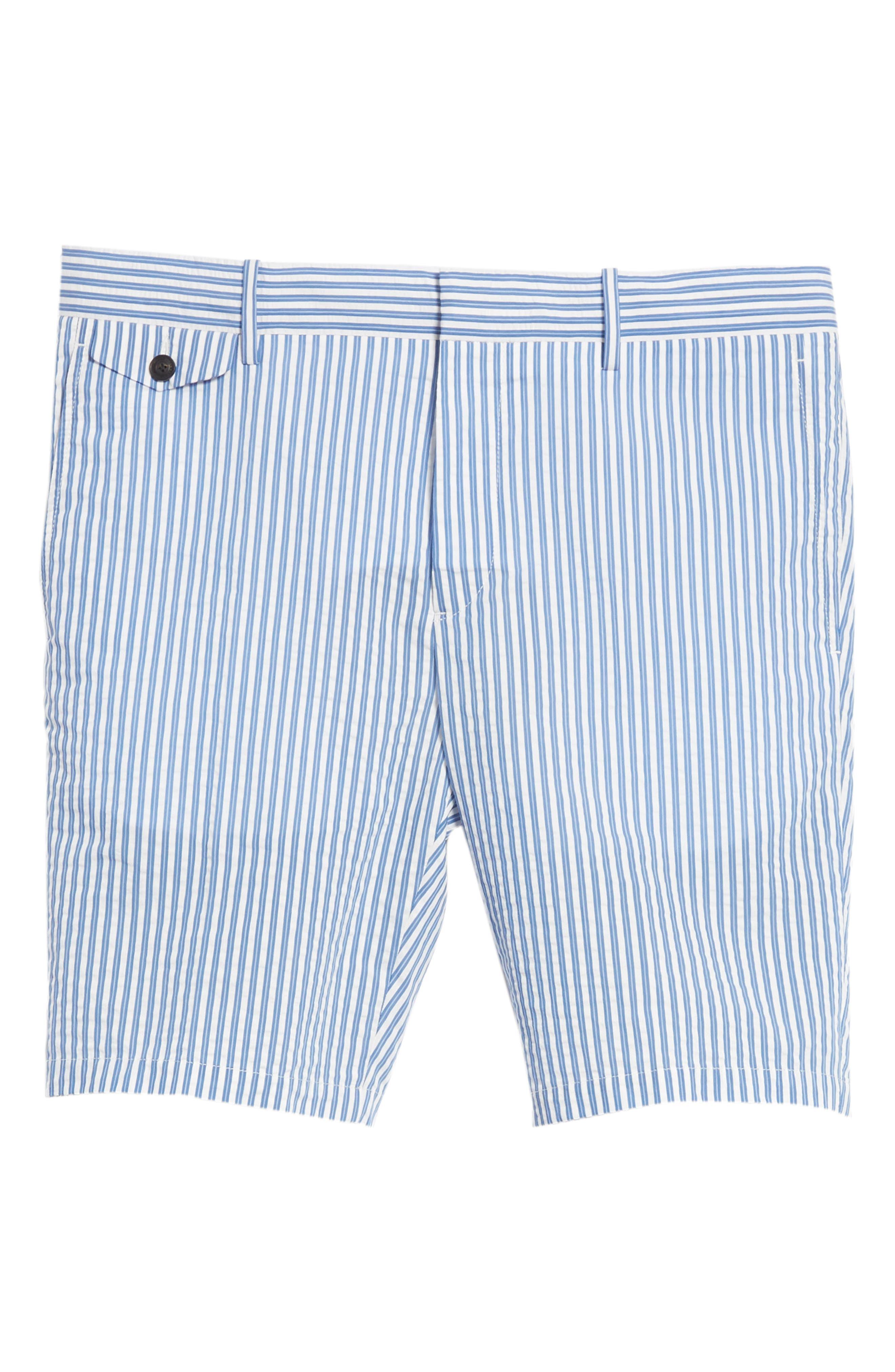 Serpentine Stripe Shorts,                             Alternate thumbnail 6, color,