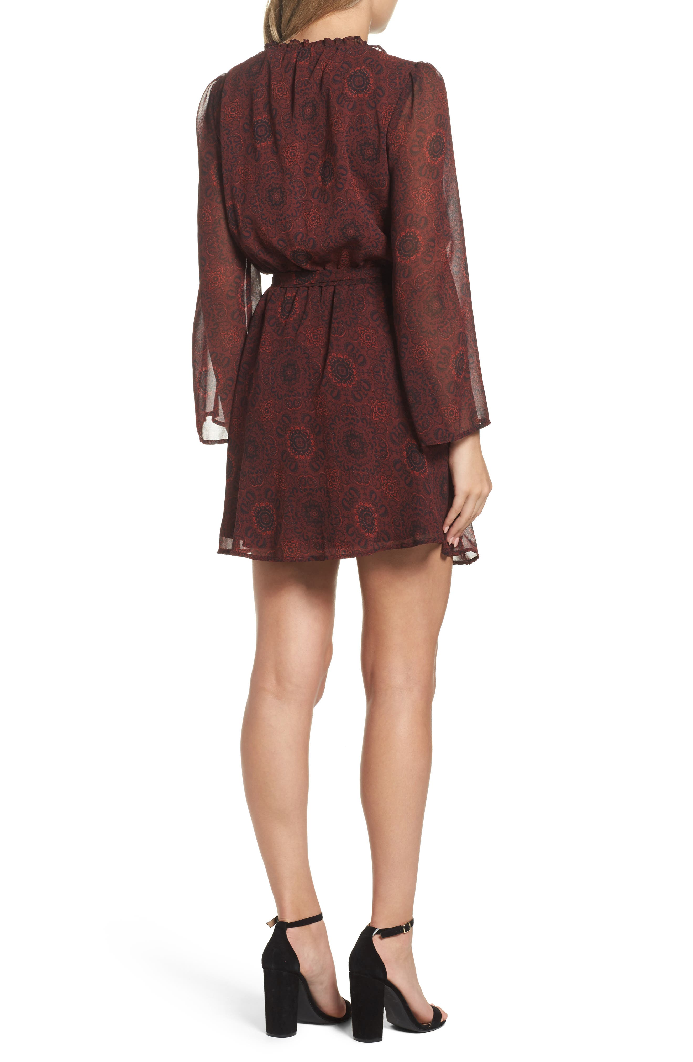 Branton Fit & Flare Dress,                             Alternate thumbnail 2, color,                             930
