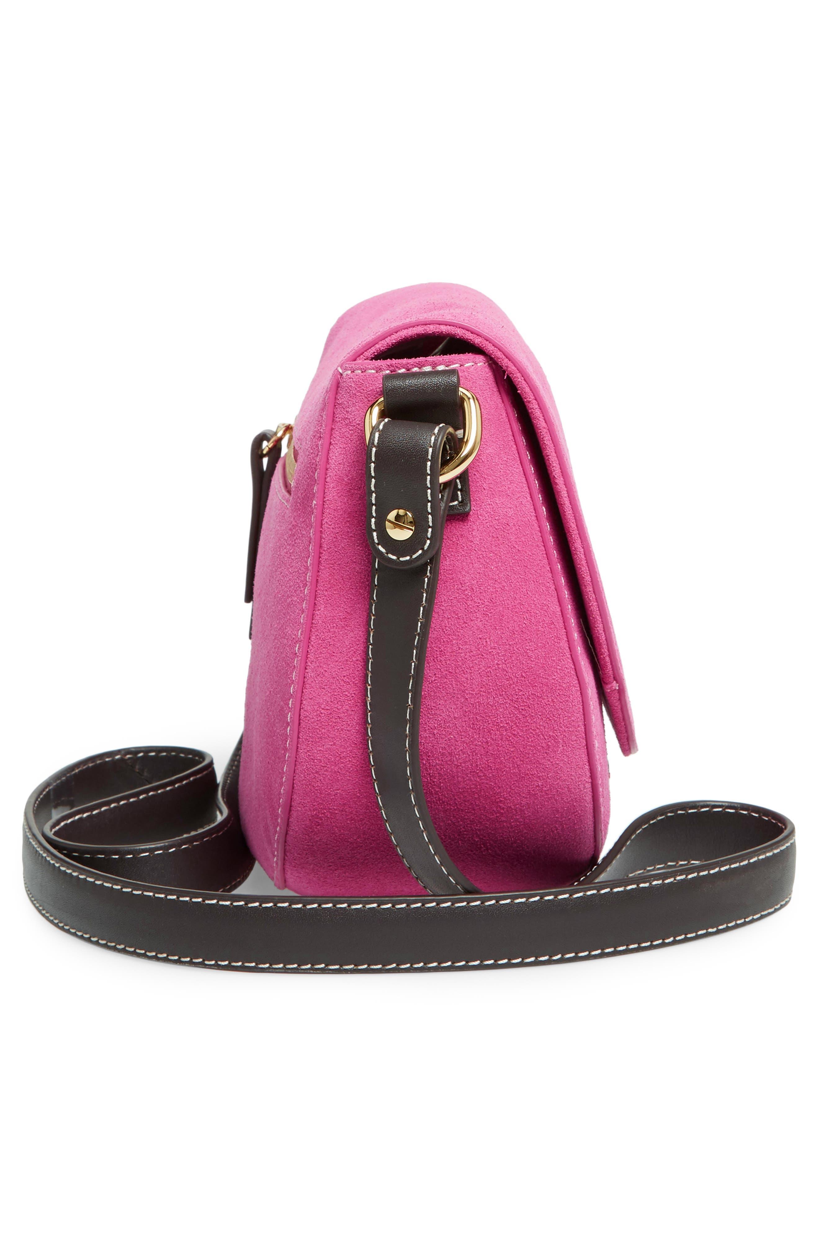 Mini Ellen Suede Crossbody Bag,                             Alternate thumbnail 15, color,