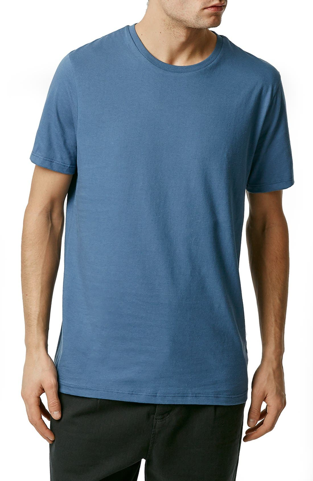 Slim Fit Crewneck T-Shirt,                             Main thumbnail 61, color,
