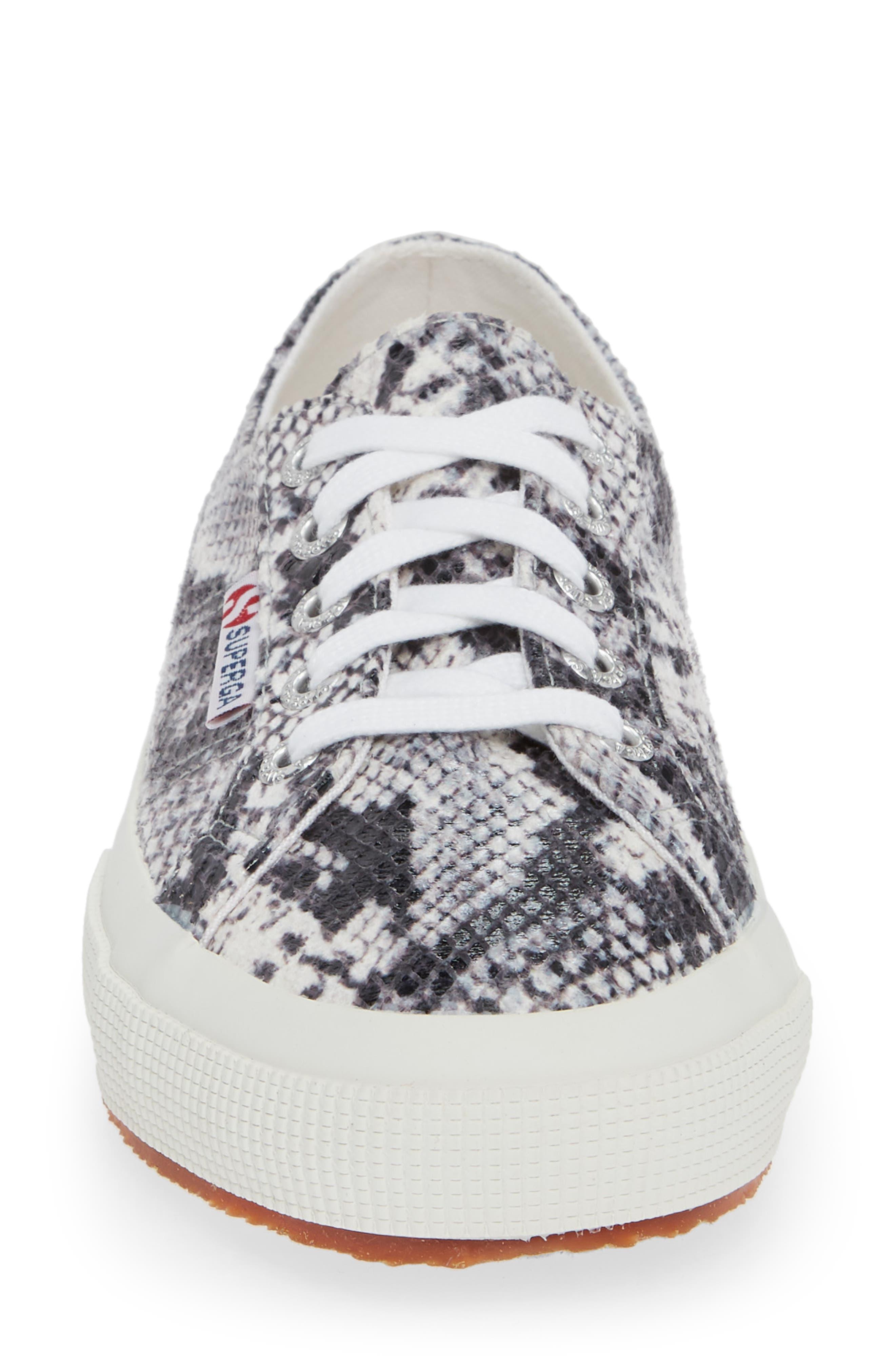 'Cotu' Sneaker,                             Alternate thumbnail 4, color,                             NATURAL SNAKE PRINT